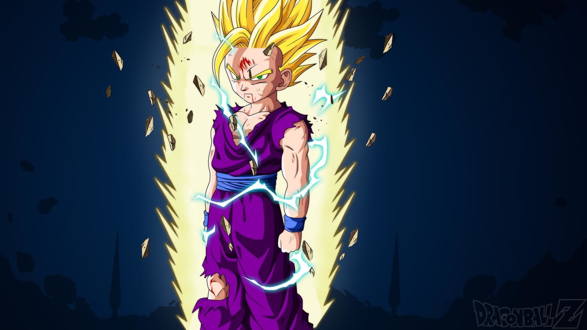 A Wallpaper about the best Anime ever. Dragonball Z Son Gohan