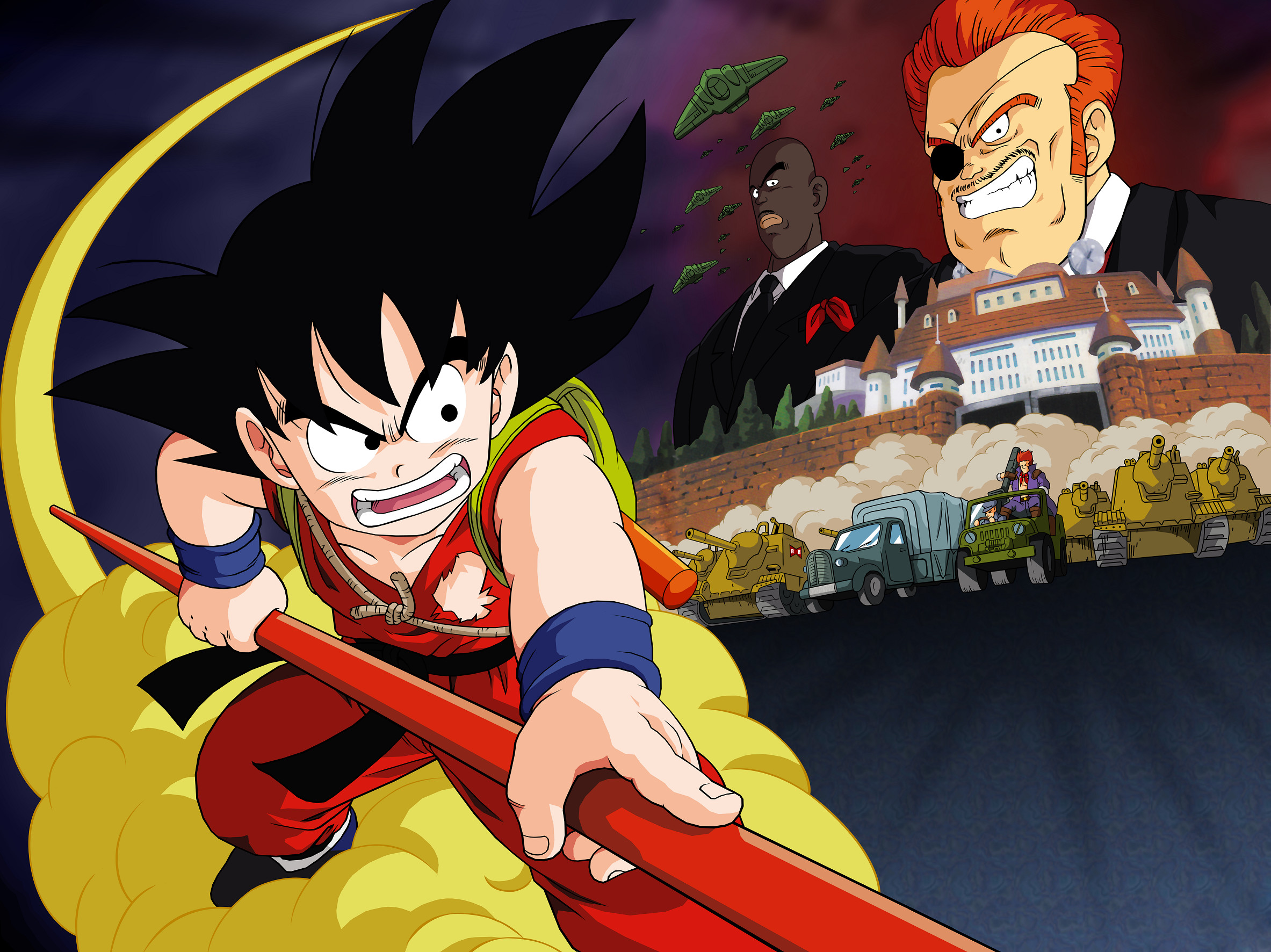 Dragon Ball Z Goku Meta-Coolers · HD Wallpaper | Background ID:610769