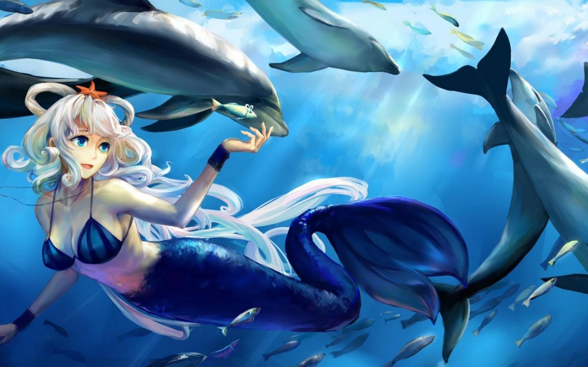 Mermaid Widescreen Wallpaper – Wallpaper, High Definition, High .