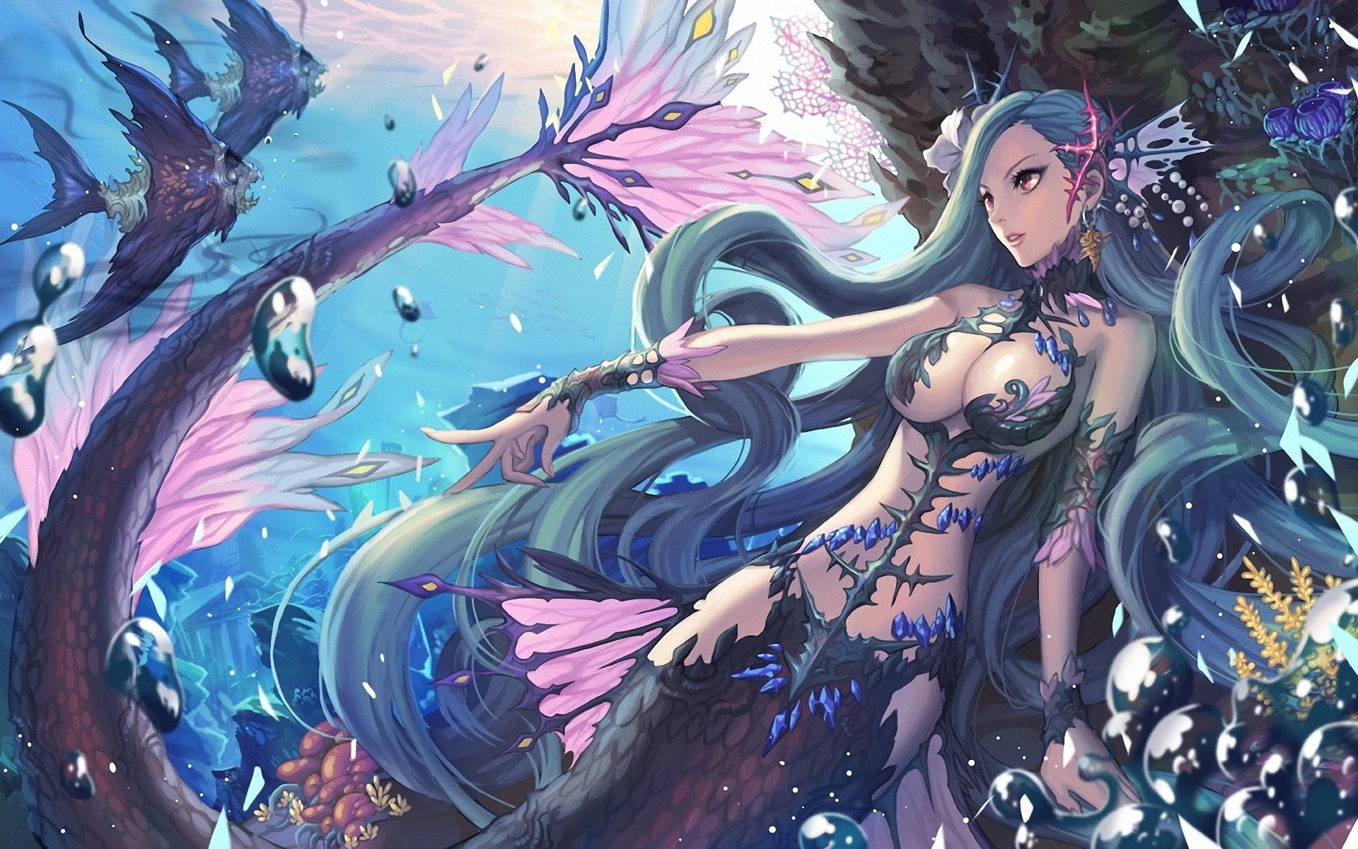 Beneath the depths – Anime Girls Artbooks