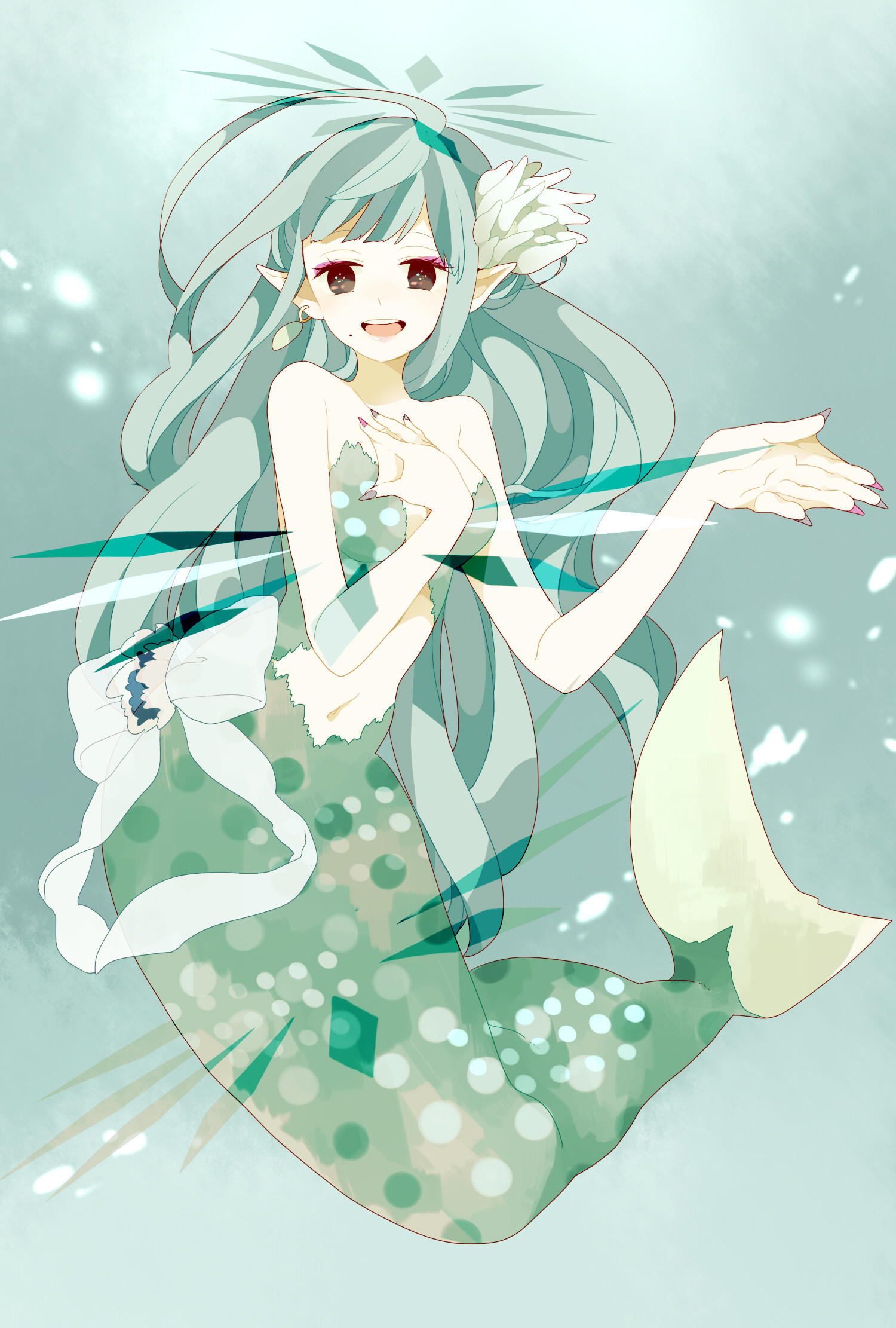 anime-girl-as-a-mermaid-wallpaper