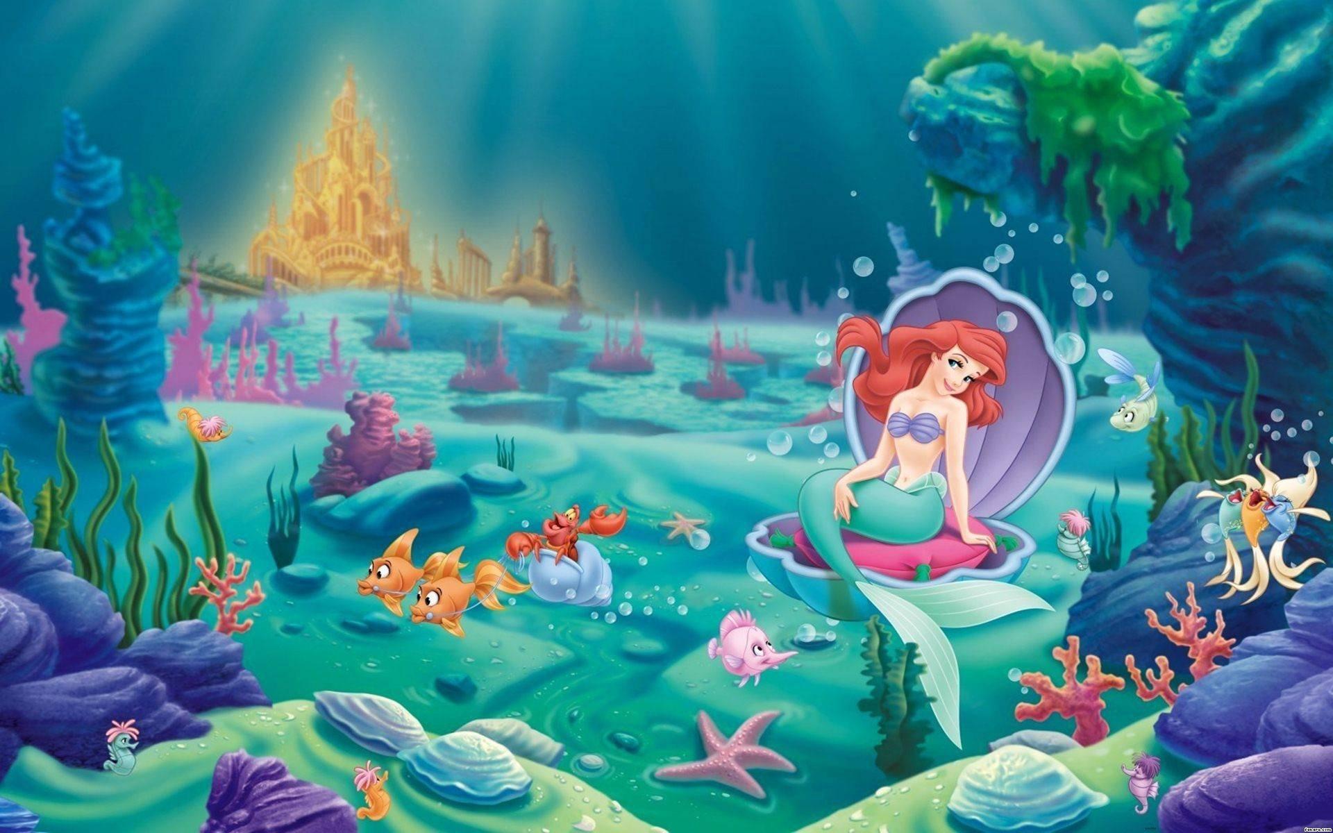 LITTLE MERMAID disney fantasy animation cartoon adventure family .