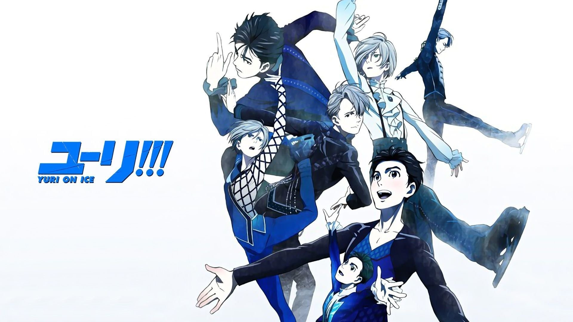 Anime – Yuri!!! on Ice Yuri Plisetsky Yuuri Katsuki Viktor Nikiforov  Wallpaper
