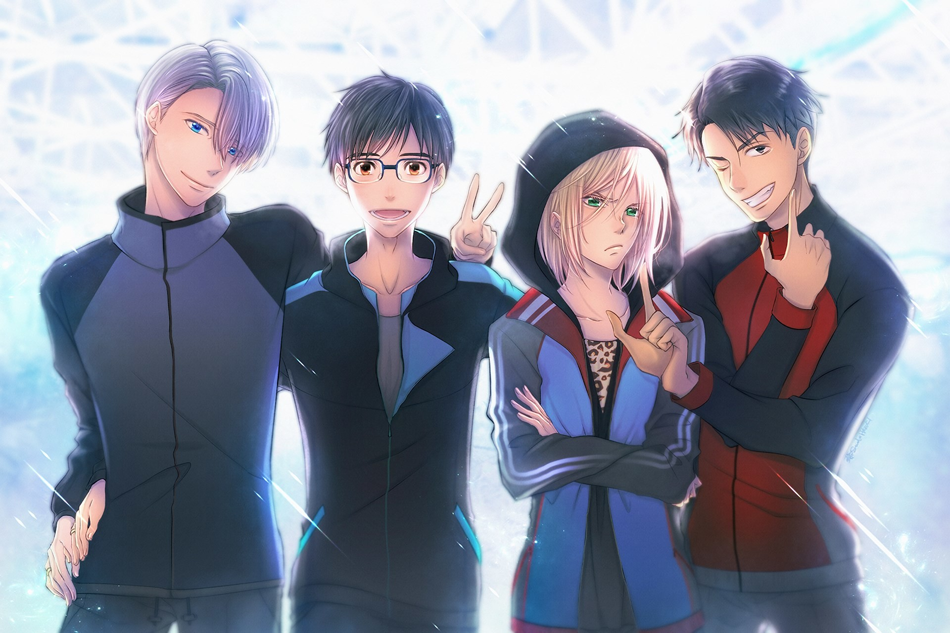 Resultado de imagen para yuri on ice wallpaper   Yuri on Ice   Pinterest    Anime
