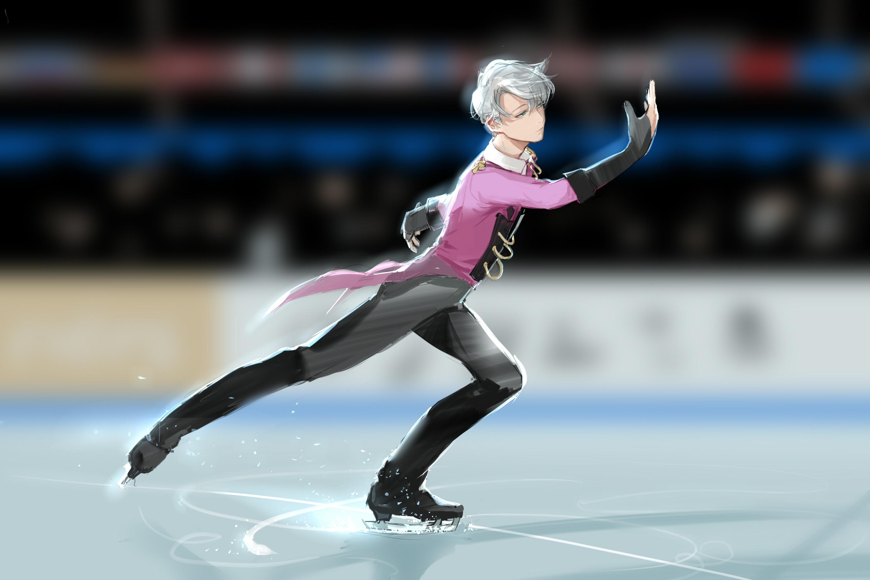 Anime – Yuri!!! on Ice Viktor Nikiforov Wallpaper