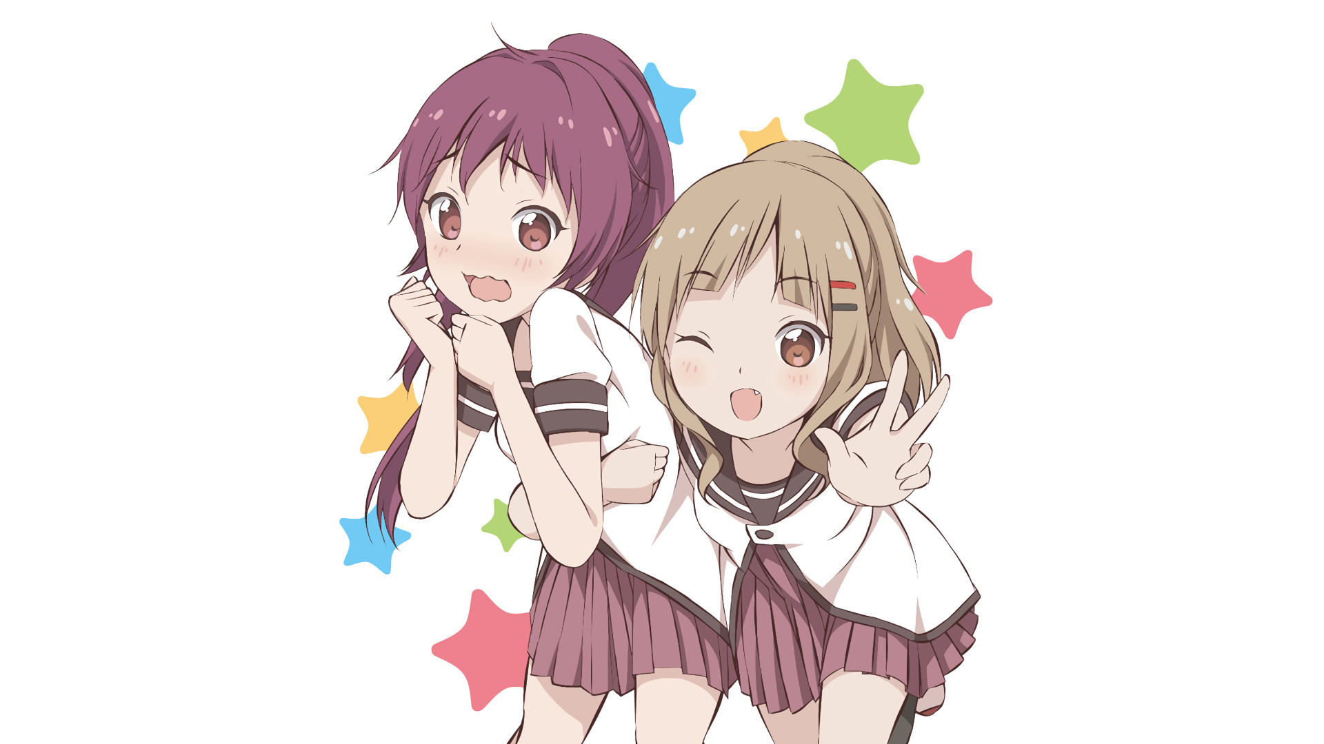 HD Wallpaper   Background ID:714565. Anime Yuru Yuri. 1 Like