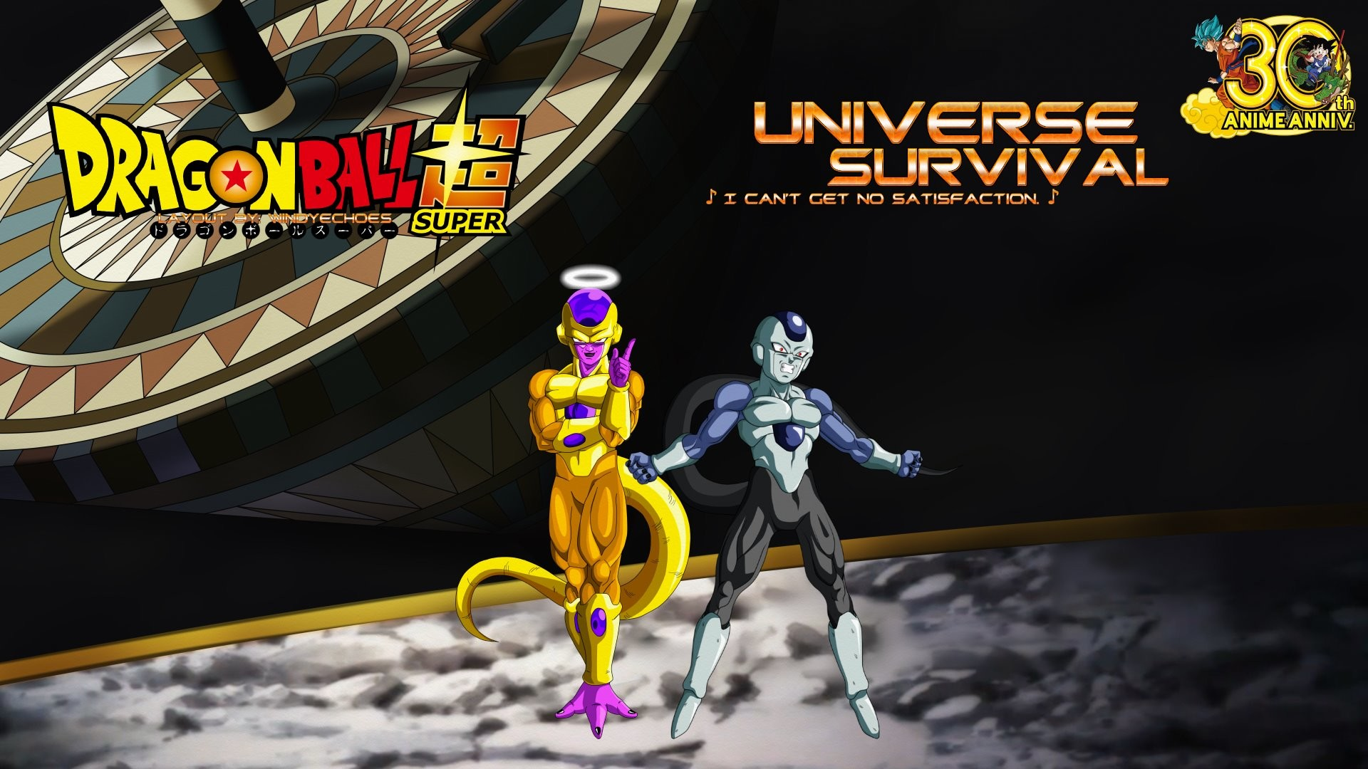 … Golden Frieza And Frost Wallpaper Counterparts by WindyEchoes