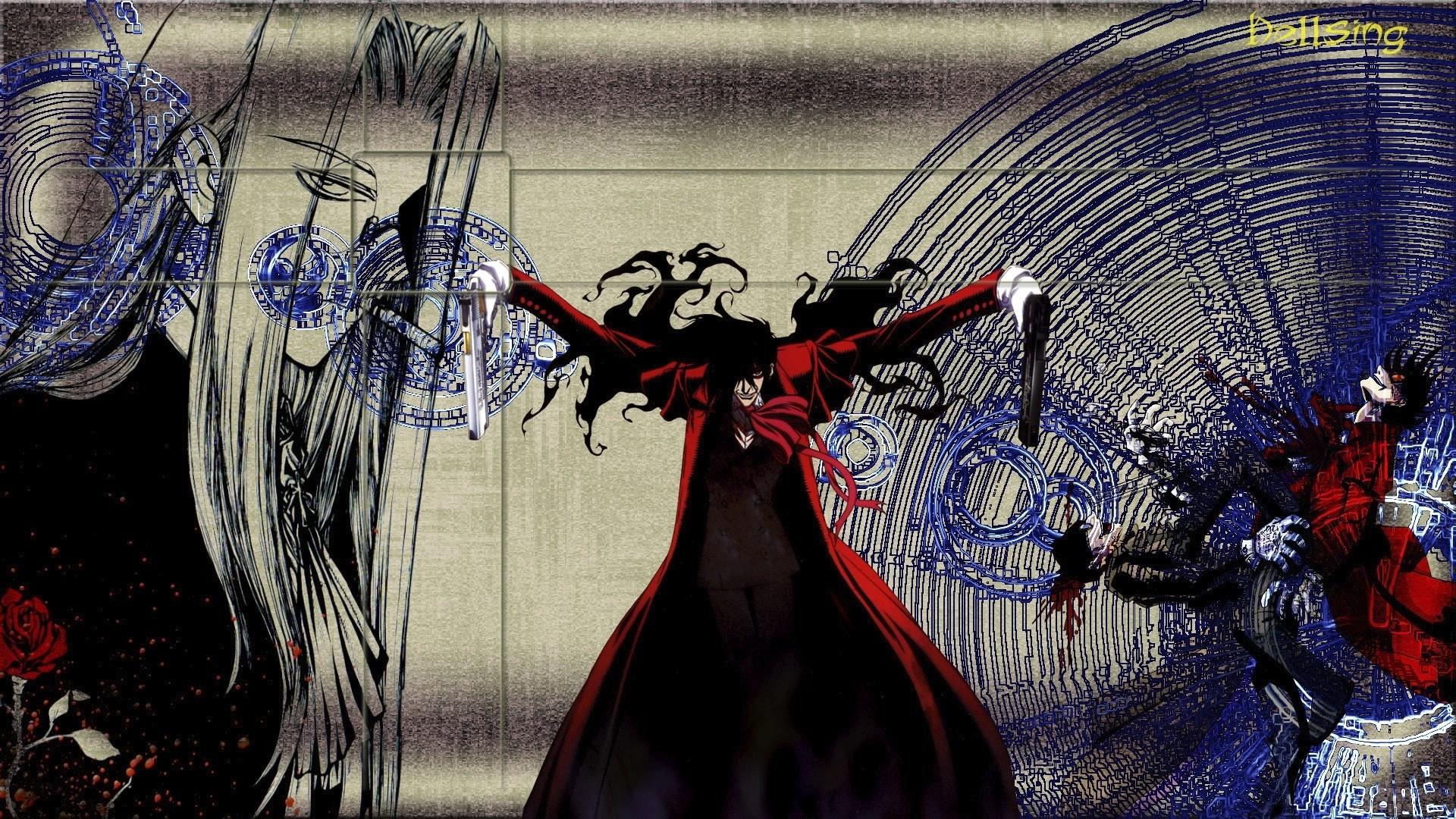 Tags: Anime, Geneon Pioneer, HELLSING, Alucard (Hellsing), Wallpaper,