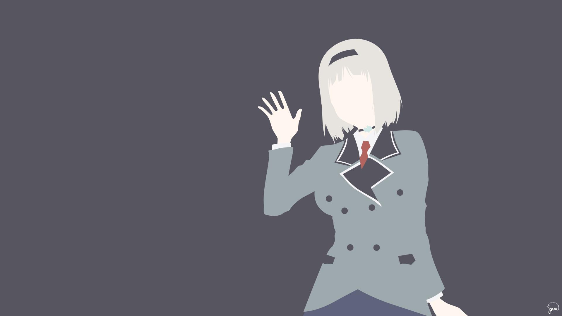Illüstrasyon Anime Anime girls karikatür Shimoneta Nishikinomiya Anna el  parmak