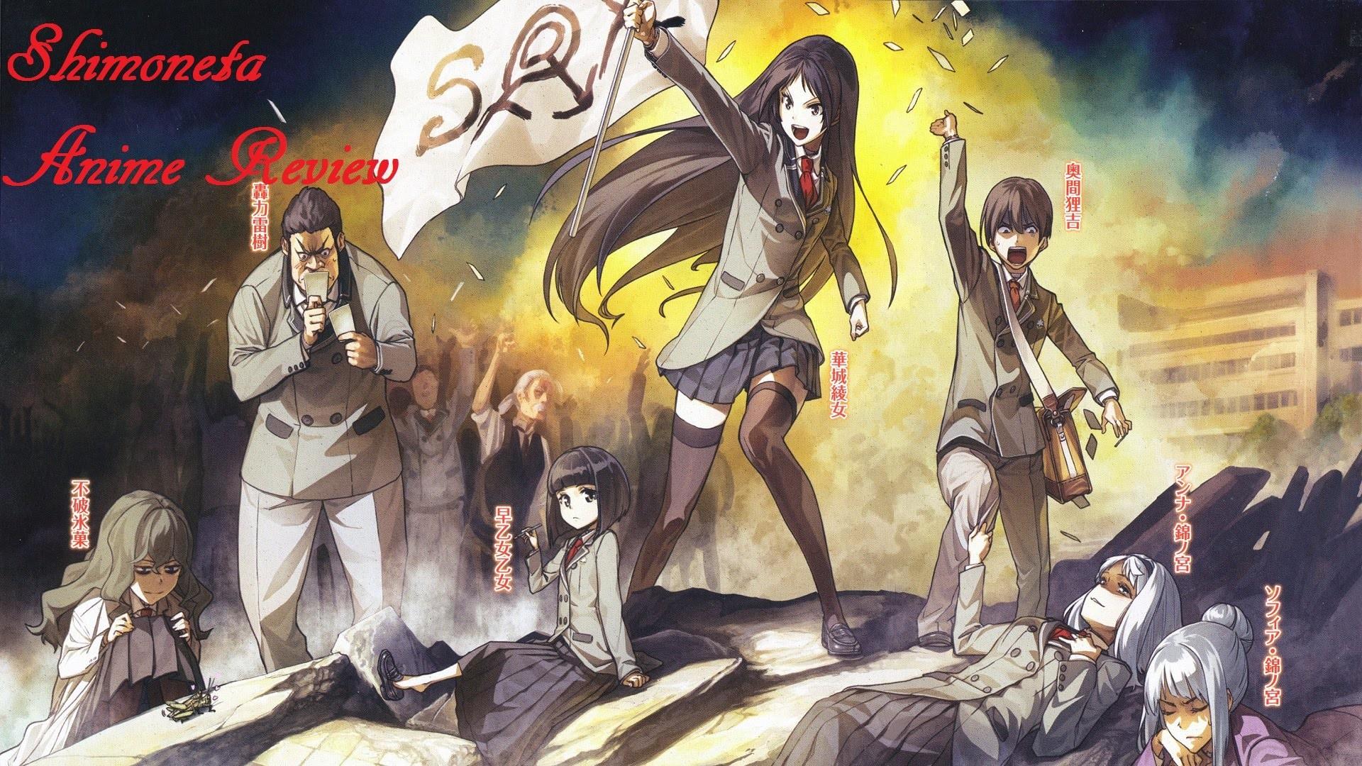 Shimoneta: A Boring World Where the Concept of Dirty Jokes Doesn't Exist  Anime Review – YouTube