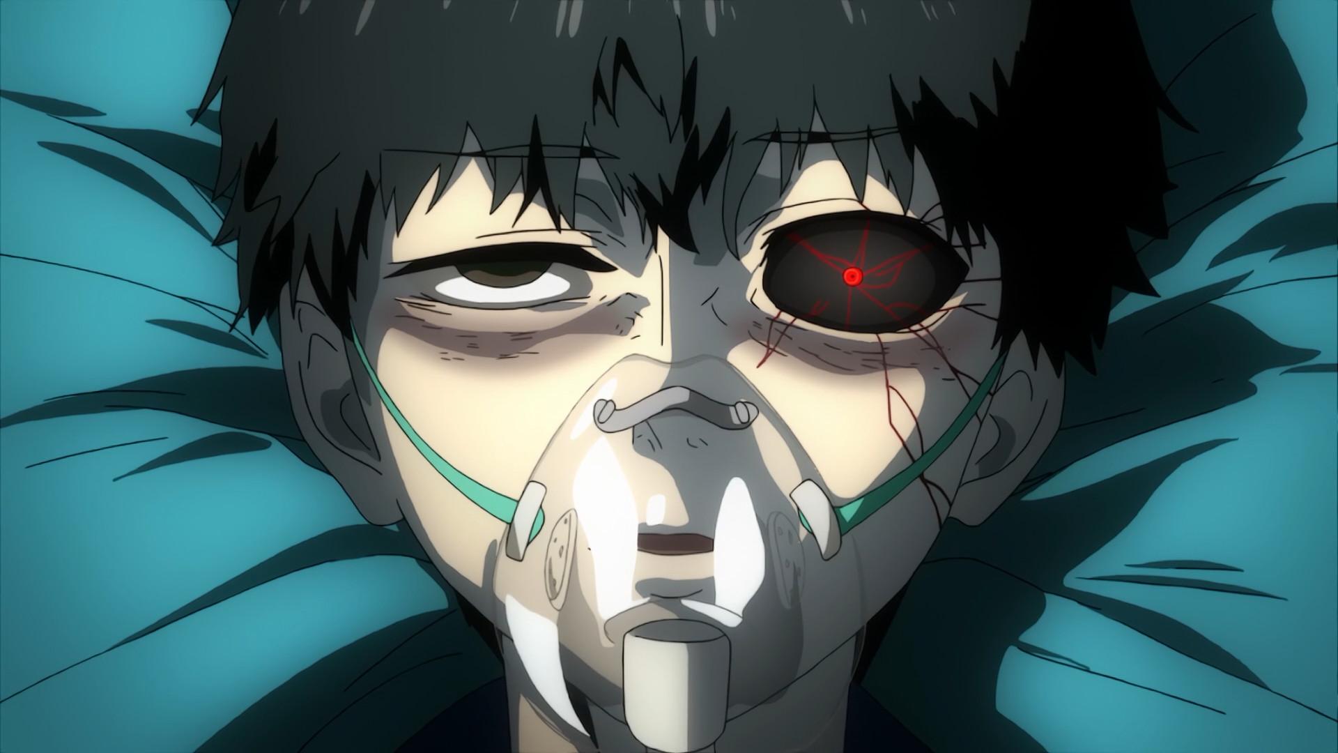 … his single transformed ghoul eye.