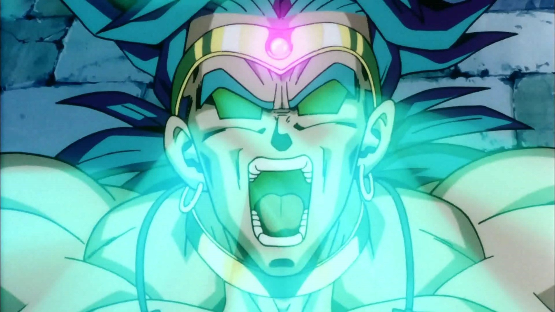 Broly Background Free Download.