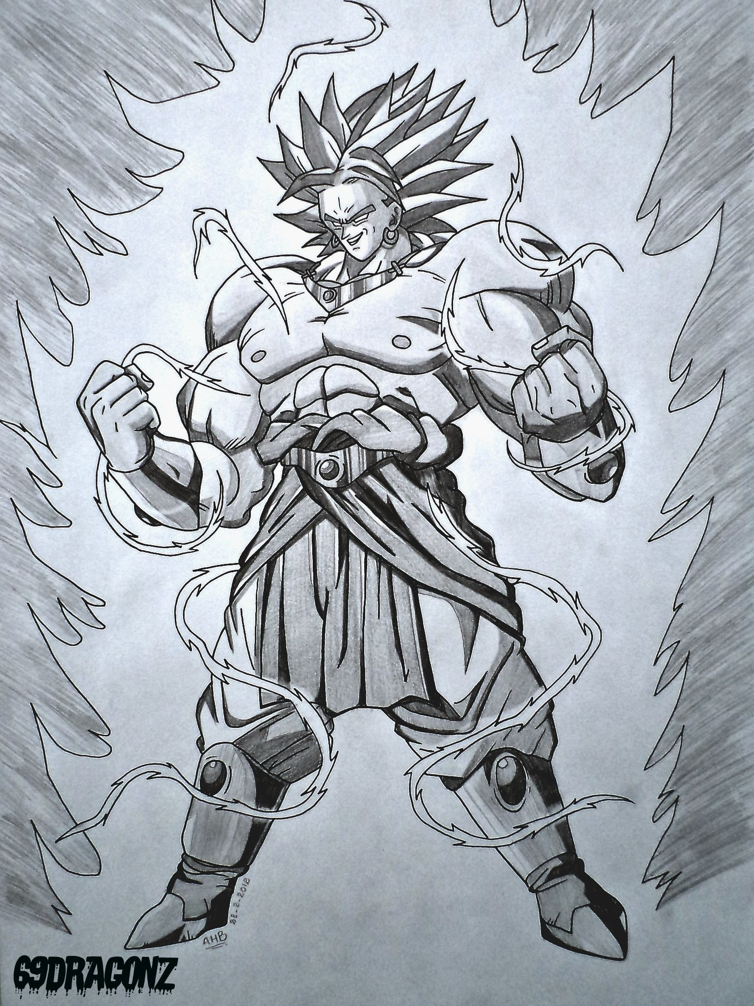 … Broly The Legendary Super Saiyan by 69dragonz