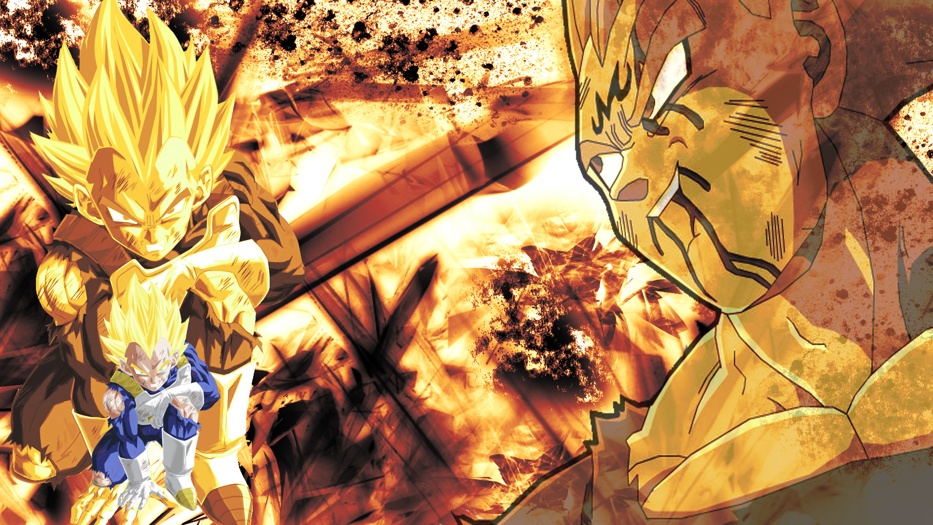 DragonBallZ – estilo Vegeta Epic – HD108… wallpaper