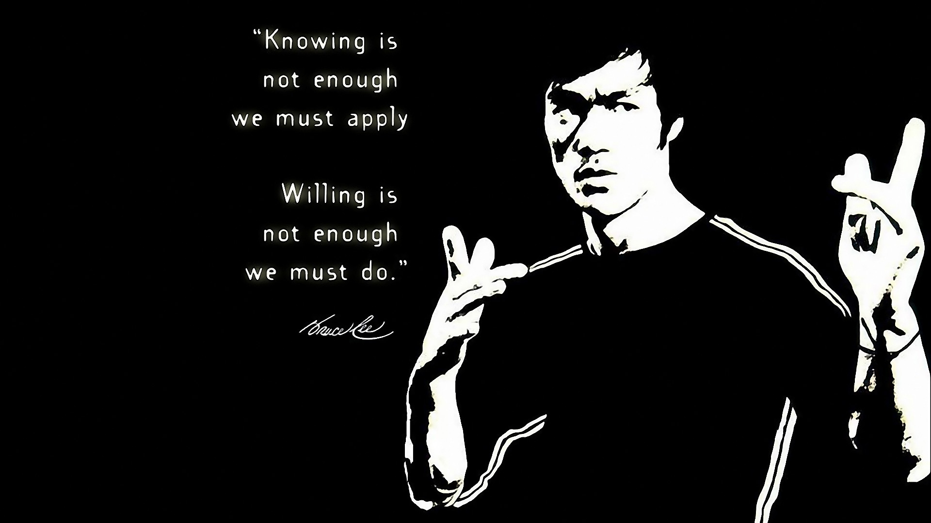 Bruce Lee wallpapers widescreen