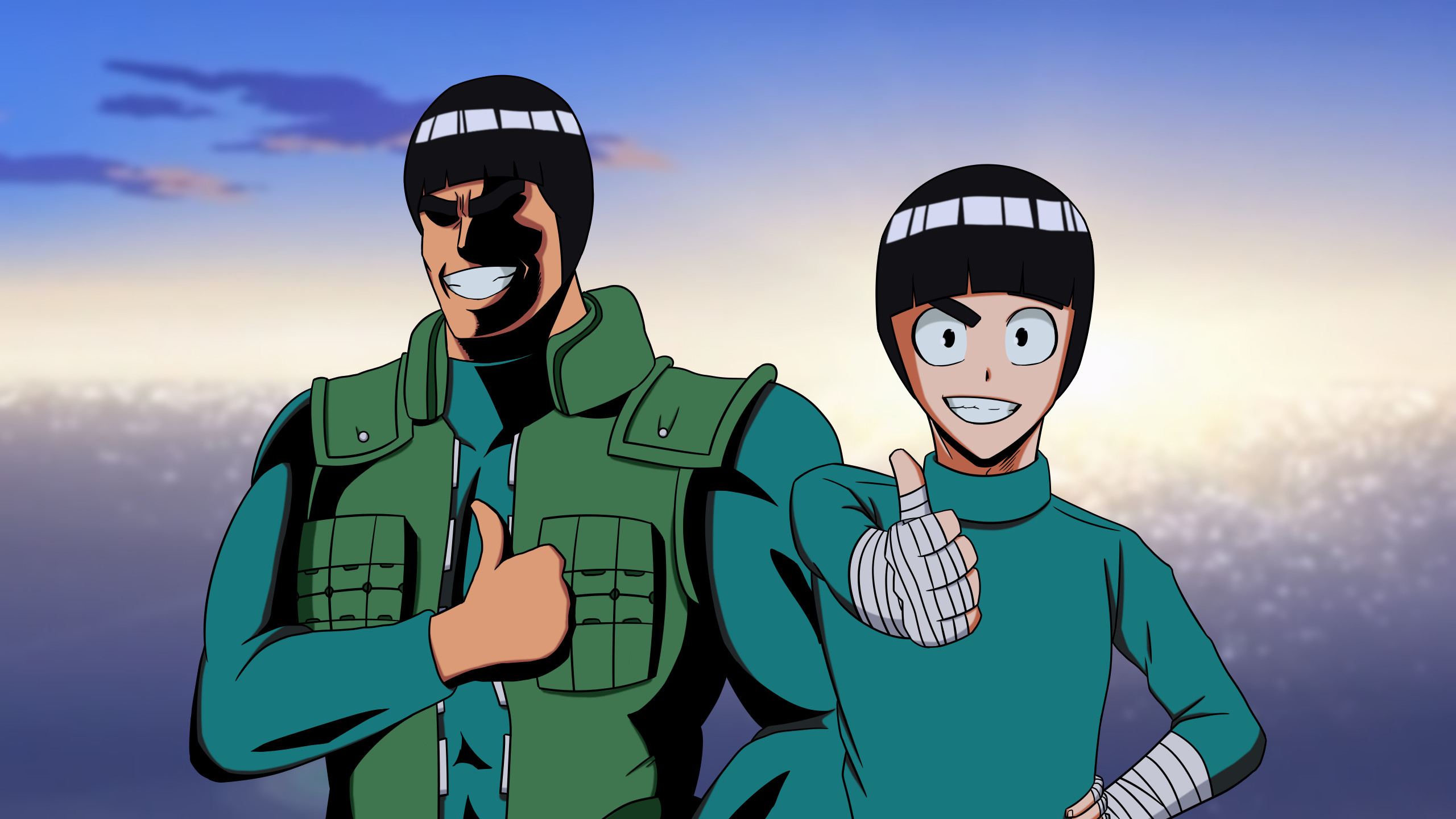 Rock Lee & Might Guy (MHA style) …