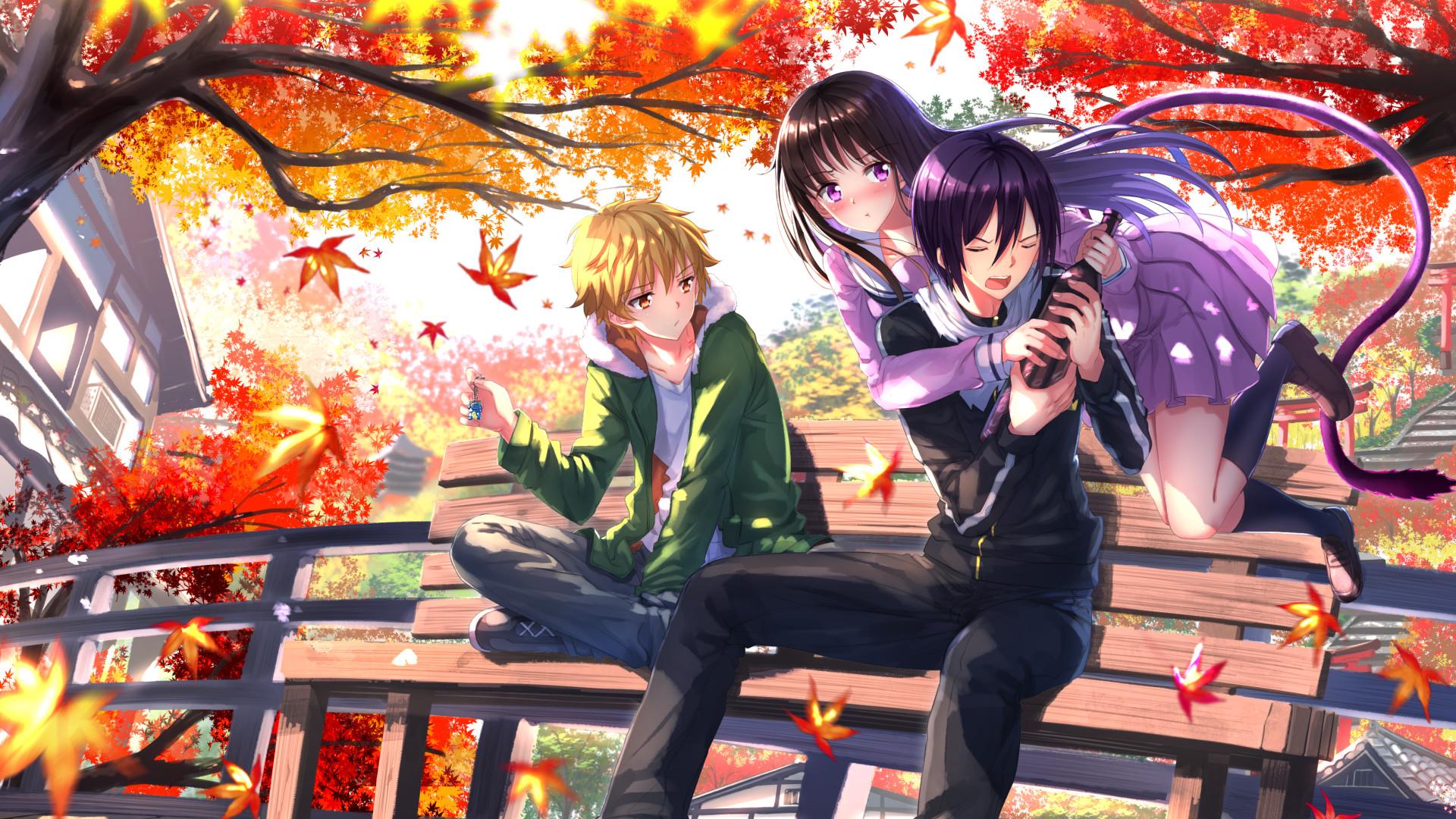Anime – Noragami Yukine (Noragami) Hiyori Iki Yato (Noragami) Wallpaper