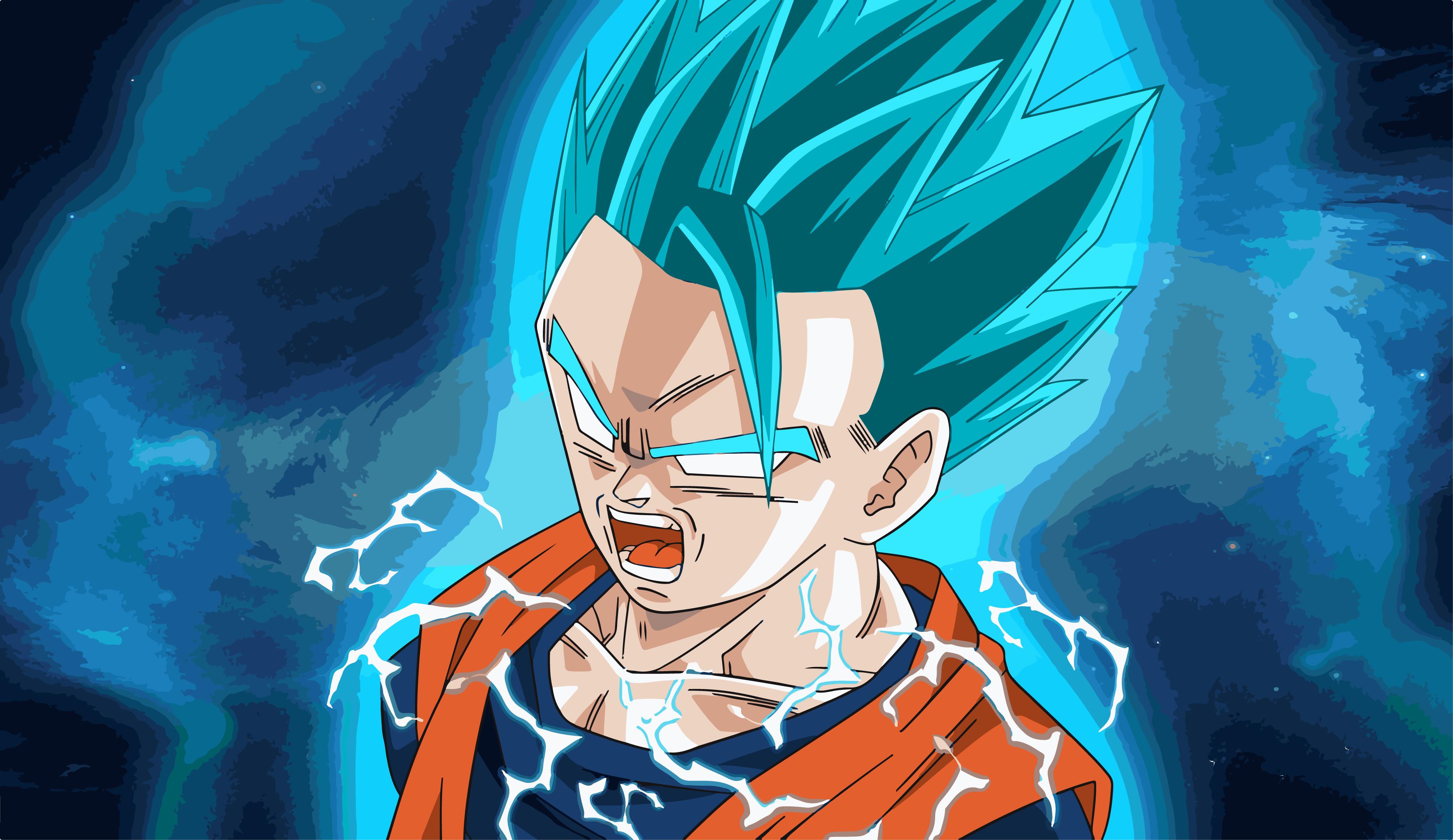 Anime – Dragon Ball Super Gohan (Dragon Ball) Super Saiyan Blue Wallpaper