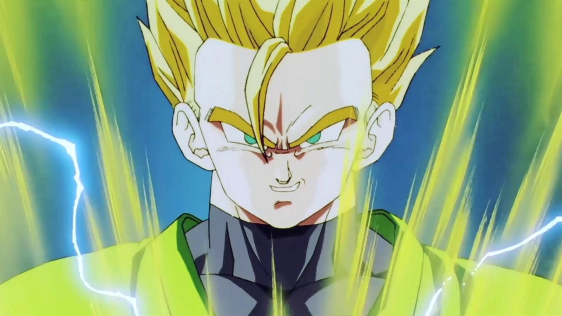 DBZ Kai [Jap] – Gohan transforms into a Super Saiyan 2 (Majin Buu Saga) –  YouTube