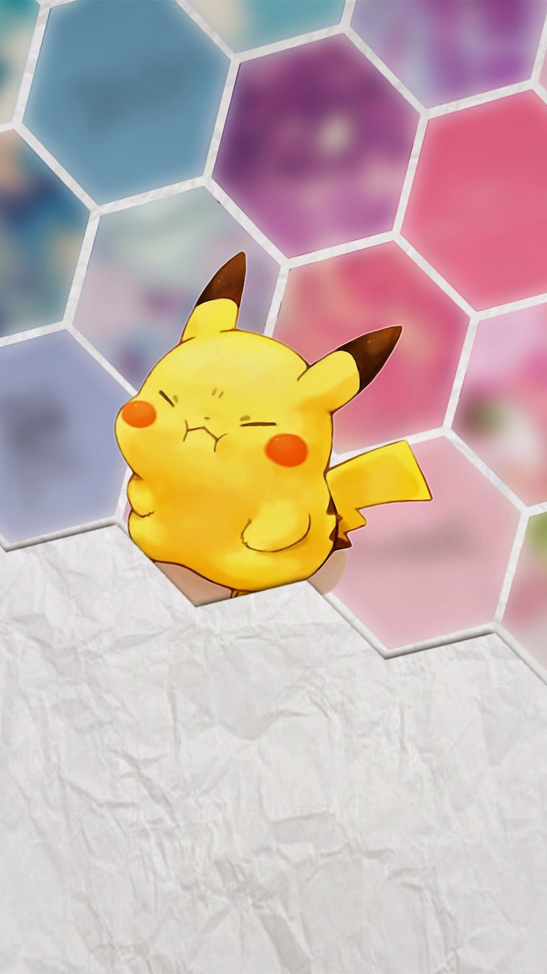 Tap image for more iPhone 6 Plus Pikachu wallpapers! Pikachu – @mobile9 |  Cute