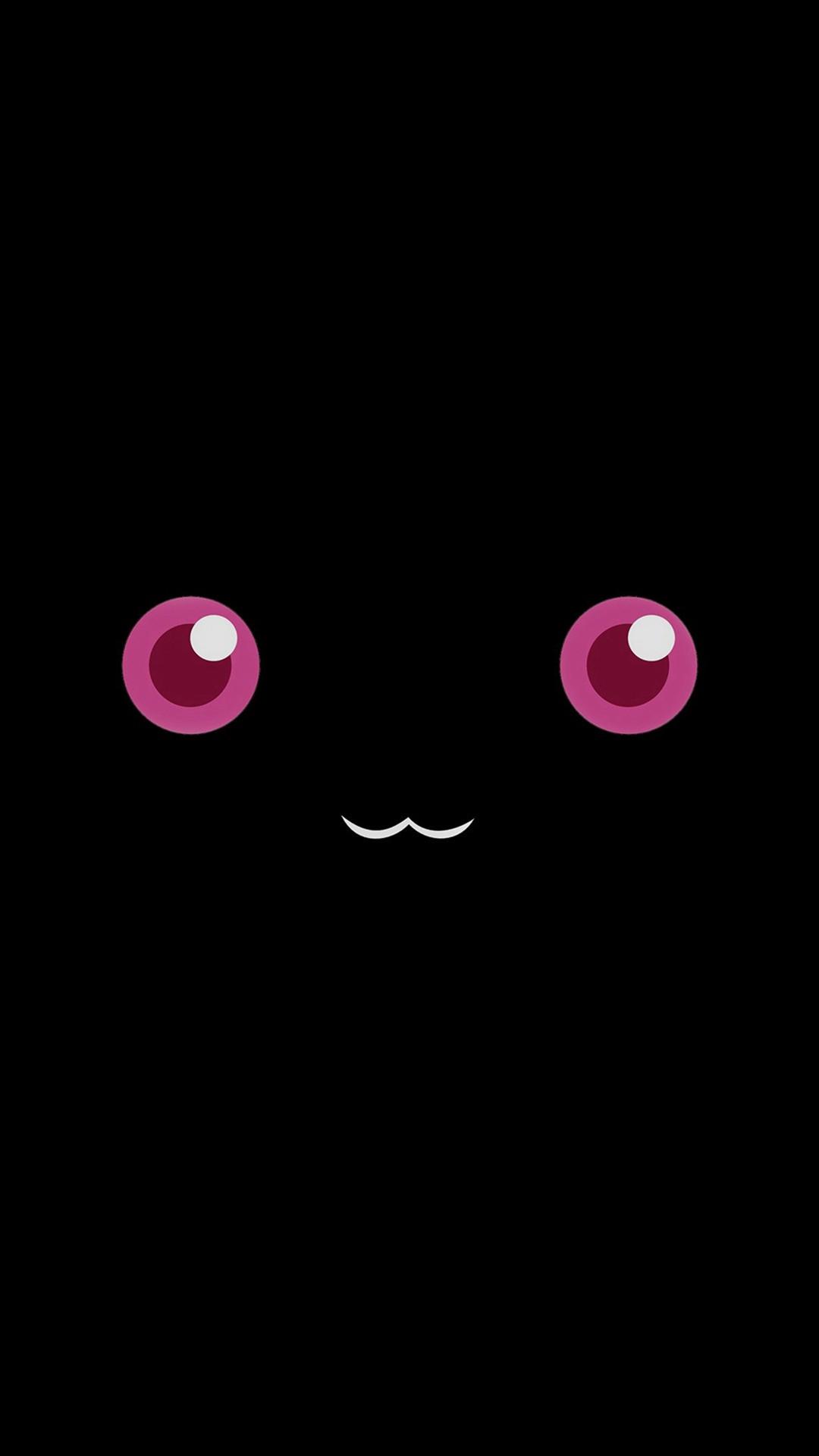 Cute Pokemon Dark Character Anime Minimal #iPhone #6 #wallpaper