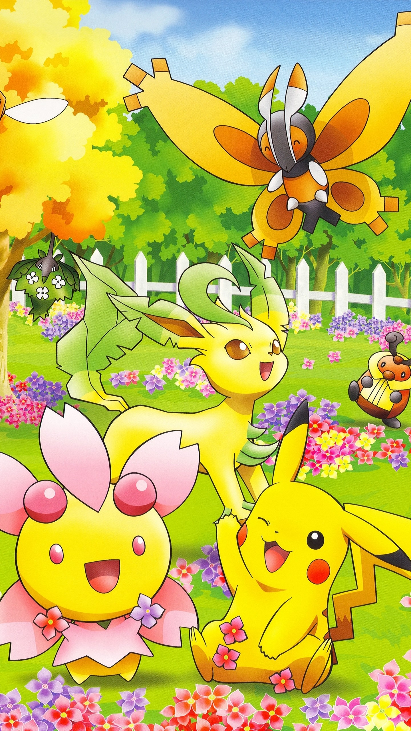 … Cute Pokemon characters Game mobile wallpaper