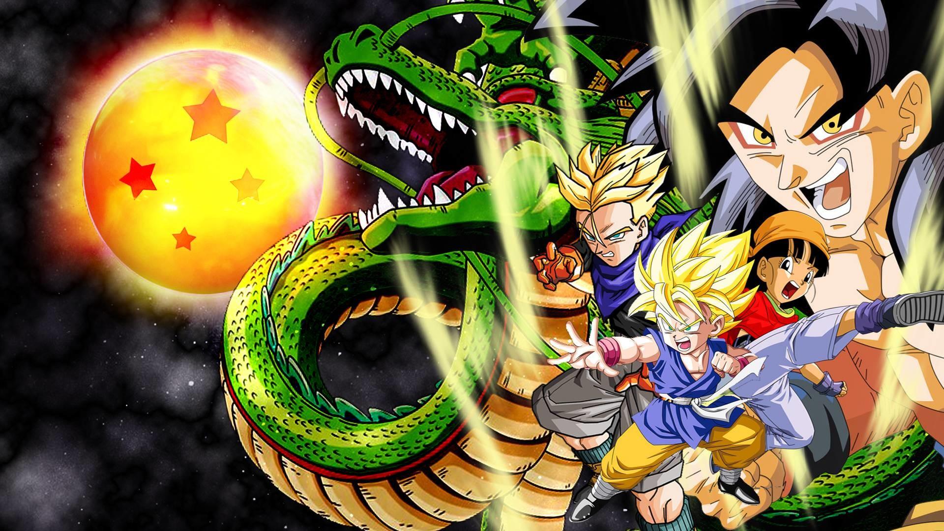 Dragon Ball Gt Hd Wallpapers Wallpaper Res 1024x768PX ~ Dragon .