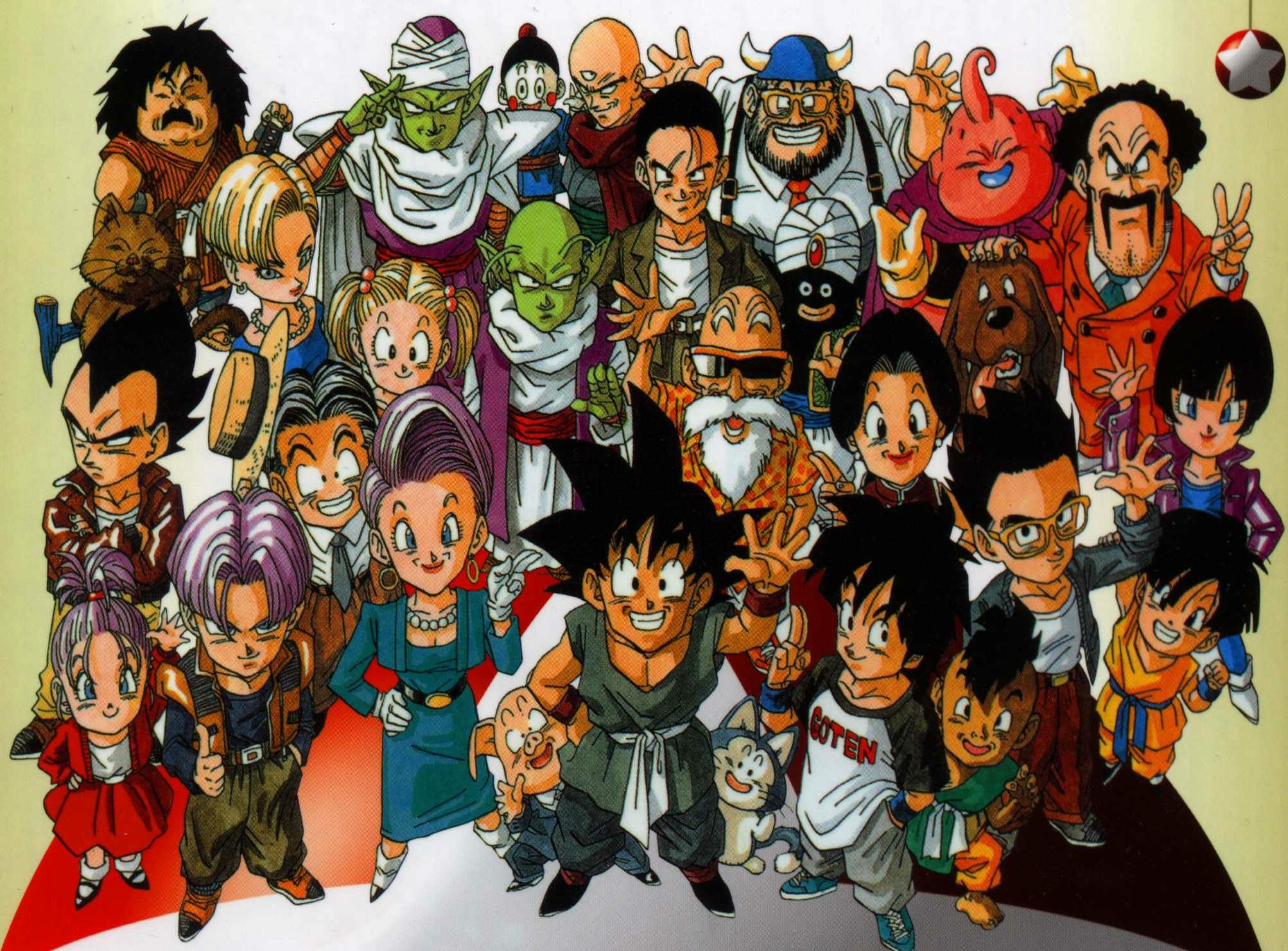 Dragon Ball Original Wallpaper