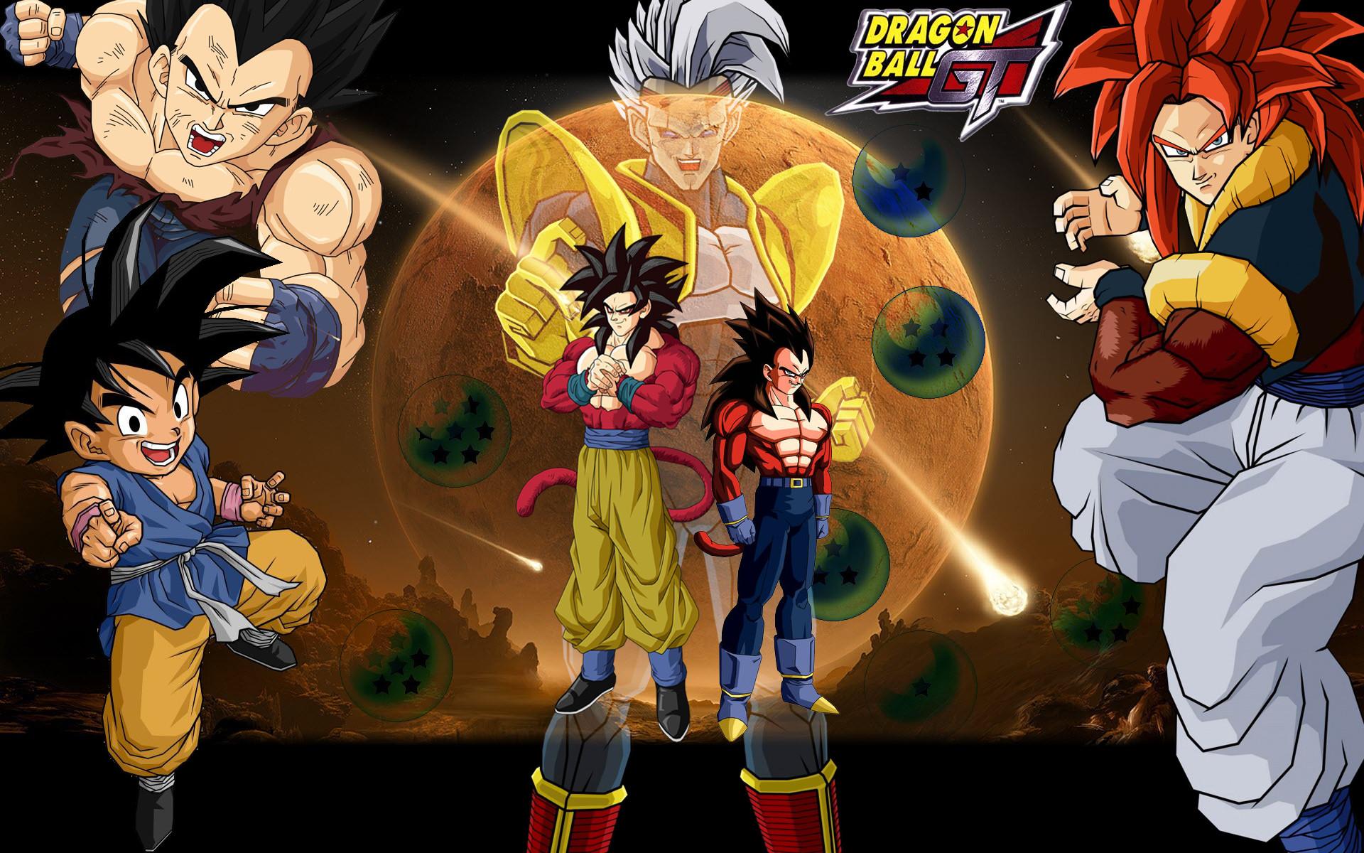 Dragon Ball Gt Super Saiyan Image for Lumia