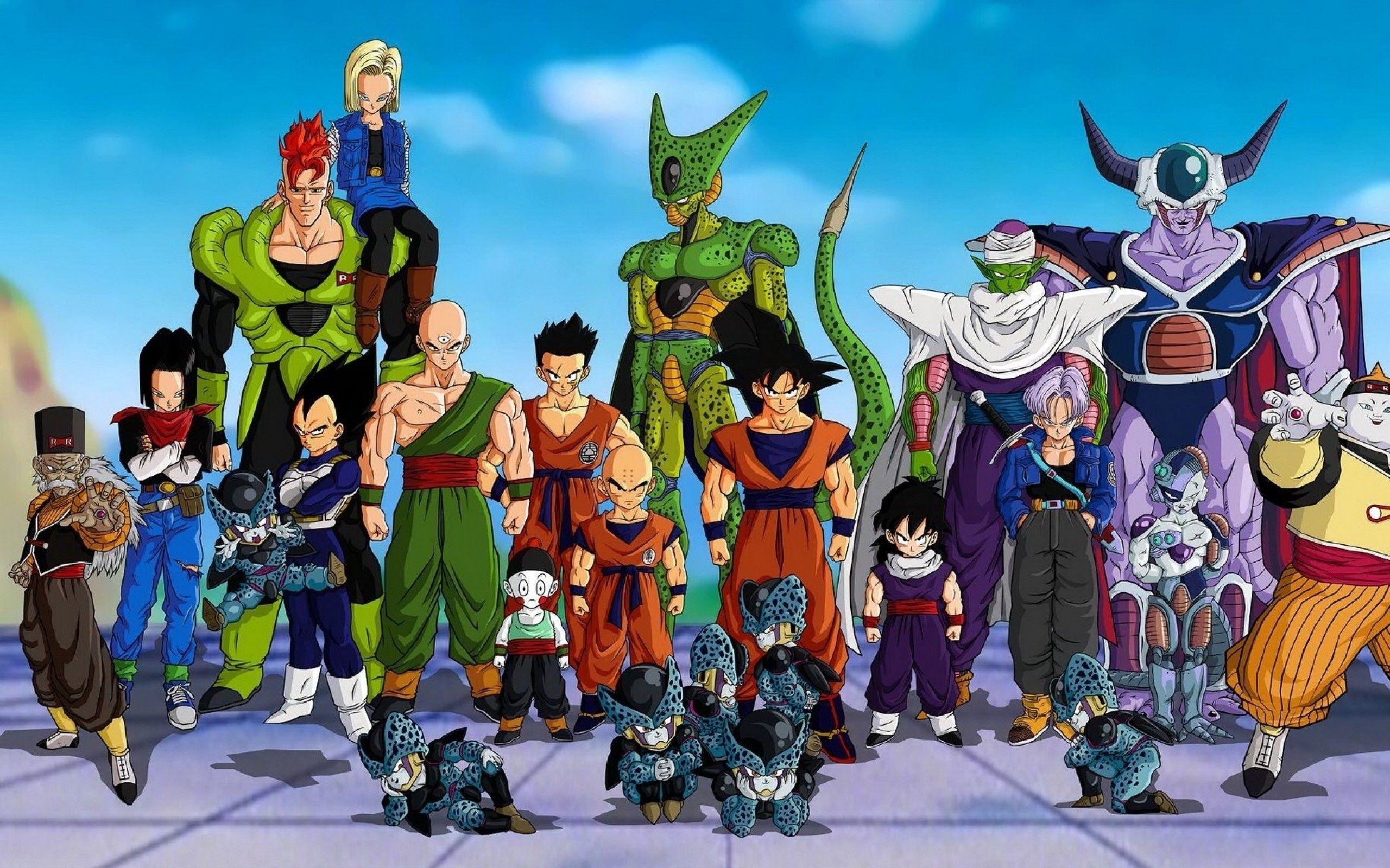 Dragon Ball Z, Dragon Ball GT, Dragon Ball, Trunks, Son Goten .