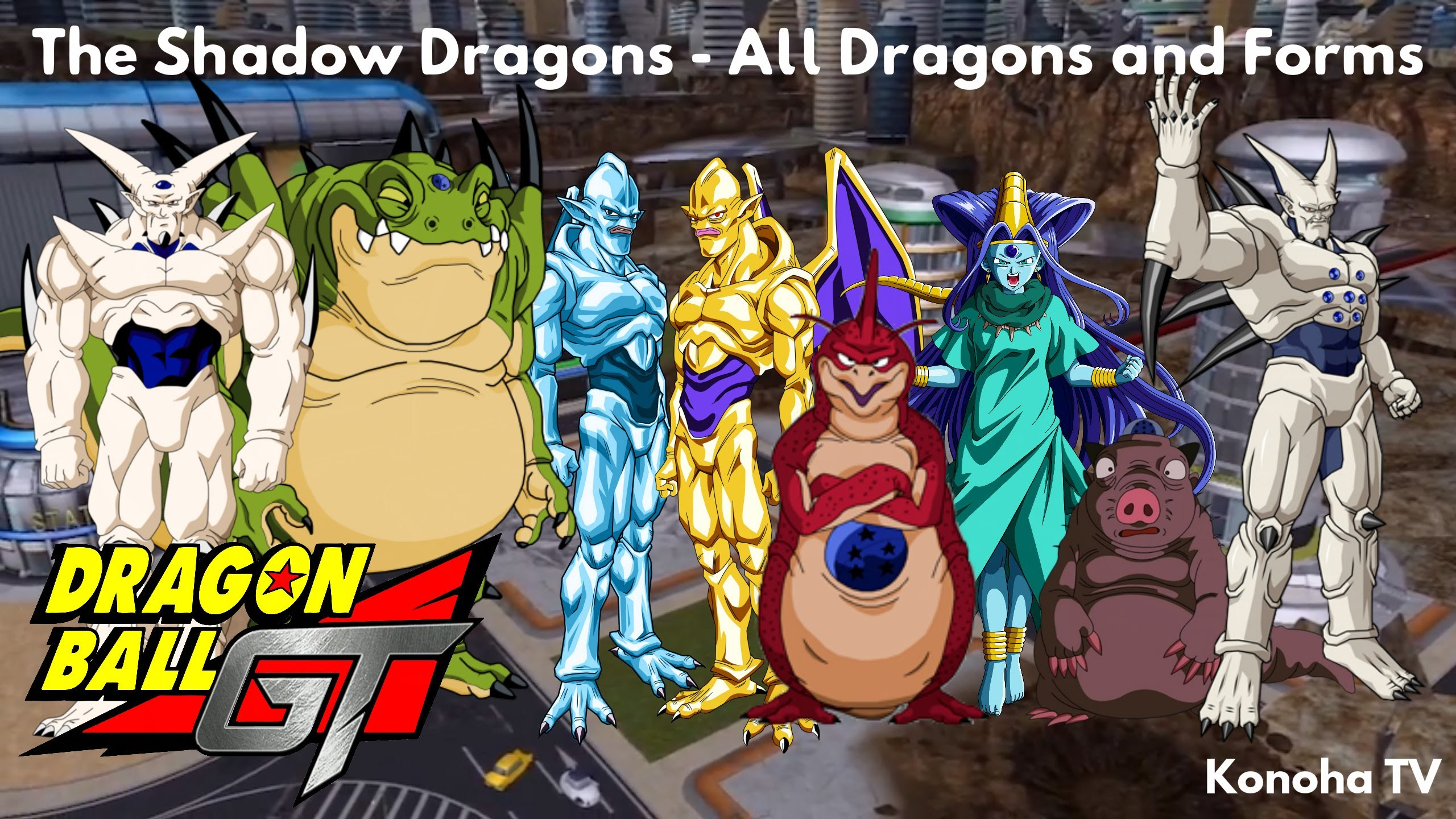 The Shadow Dragons – All Dragons and Forms (Dragon Ball GT – Dragon Ball  Heroes) – YouTube