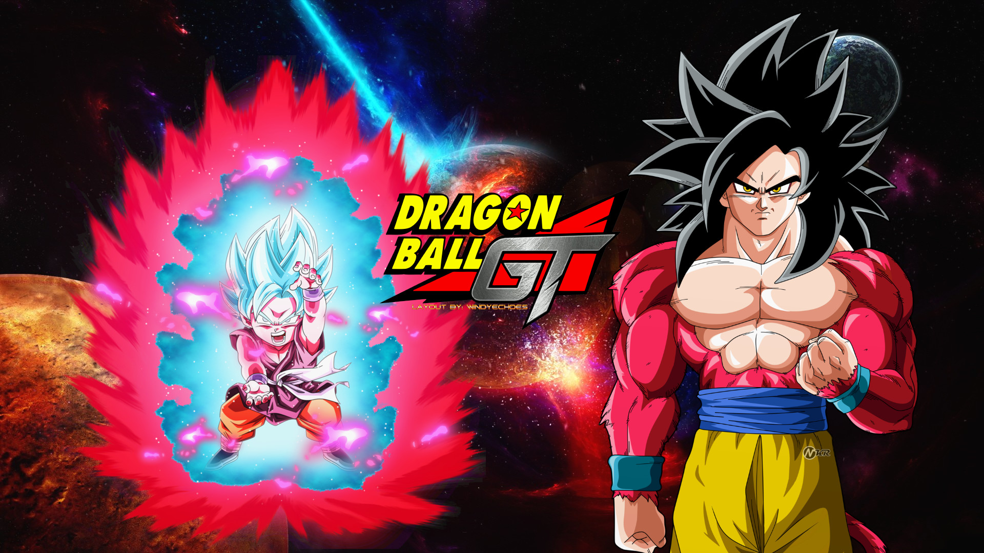 … New Dragon Ball GT – Super Version Reboot Fan Made by WindyEchoes