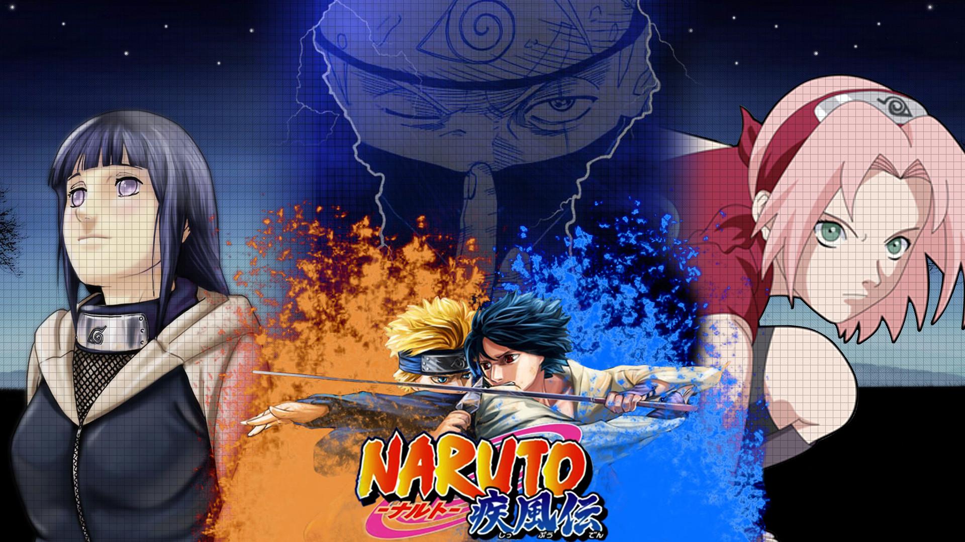 Anime – Naruto Naruto Uzumaki Kakashi Hatake Sakura Haruno Sasuke Uchiha  Hinata HyÅ«ga Sharingan (Naruto