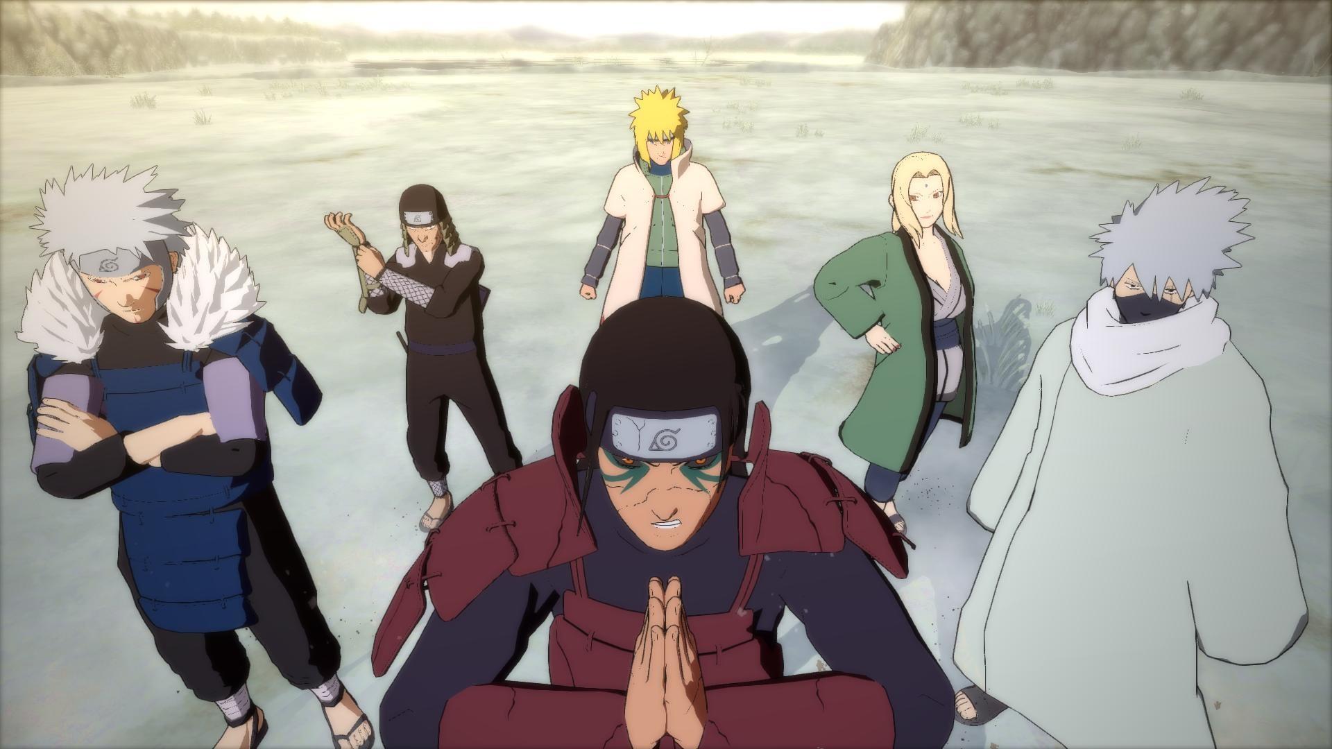 Video Game – Naruto Shippuden: Ultimate Ninja Storm 4 Kakashi Hatake  Tsunade (Naruto)
