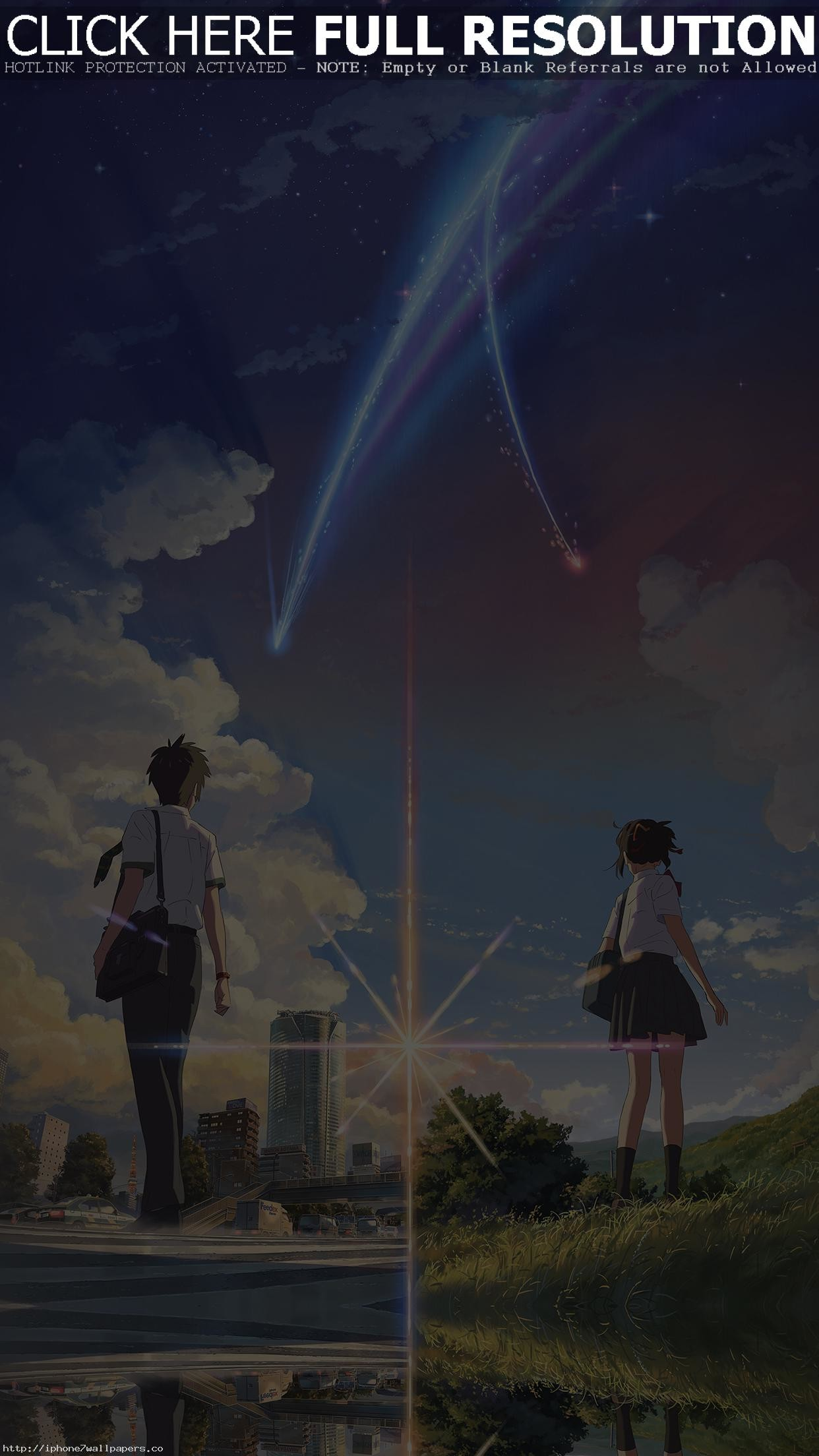 Anime Film Yourname Sky Illustration Art Android wallpaper – Android HD  wallpapers