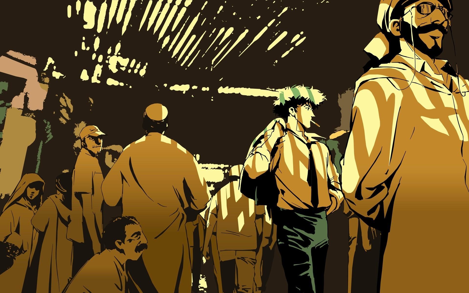 Cowboy Bebop Wallpaper Cowboy, Bebop, People, Crowd, Travel .