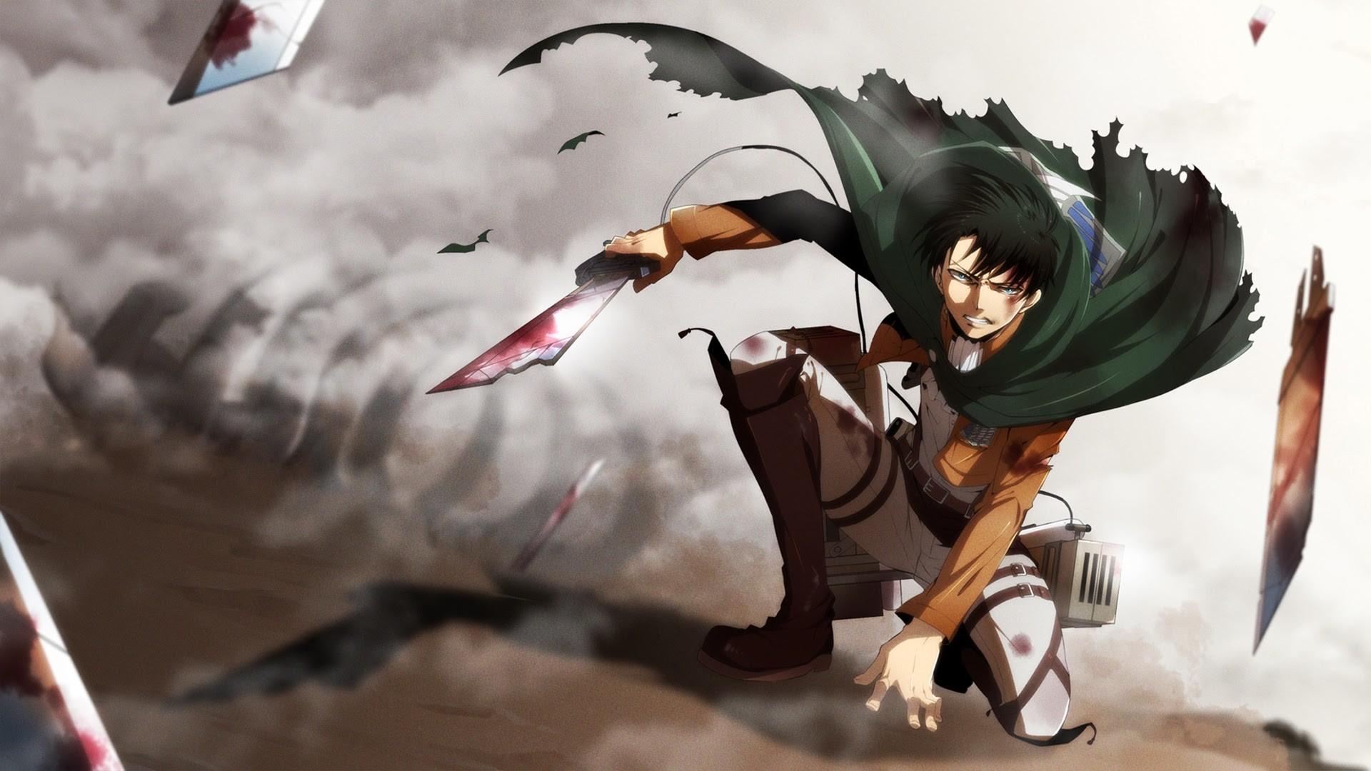 Levi Attack on Titan 6d Wallpaper HD
