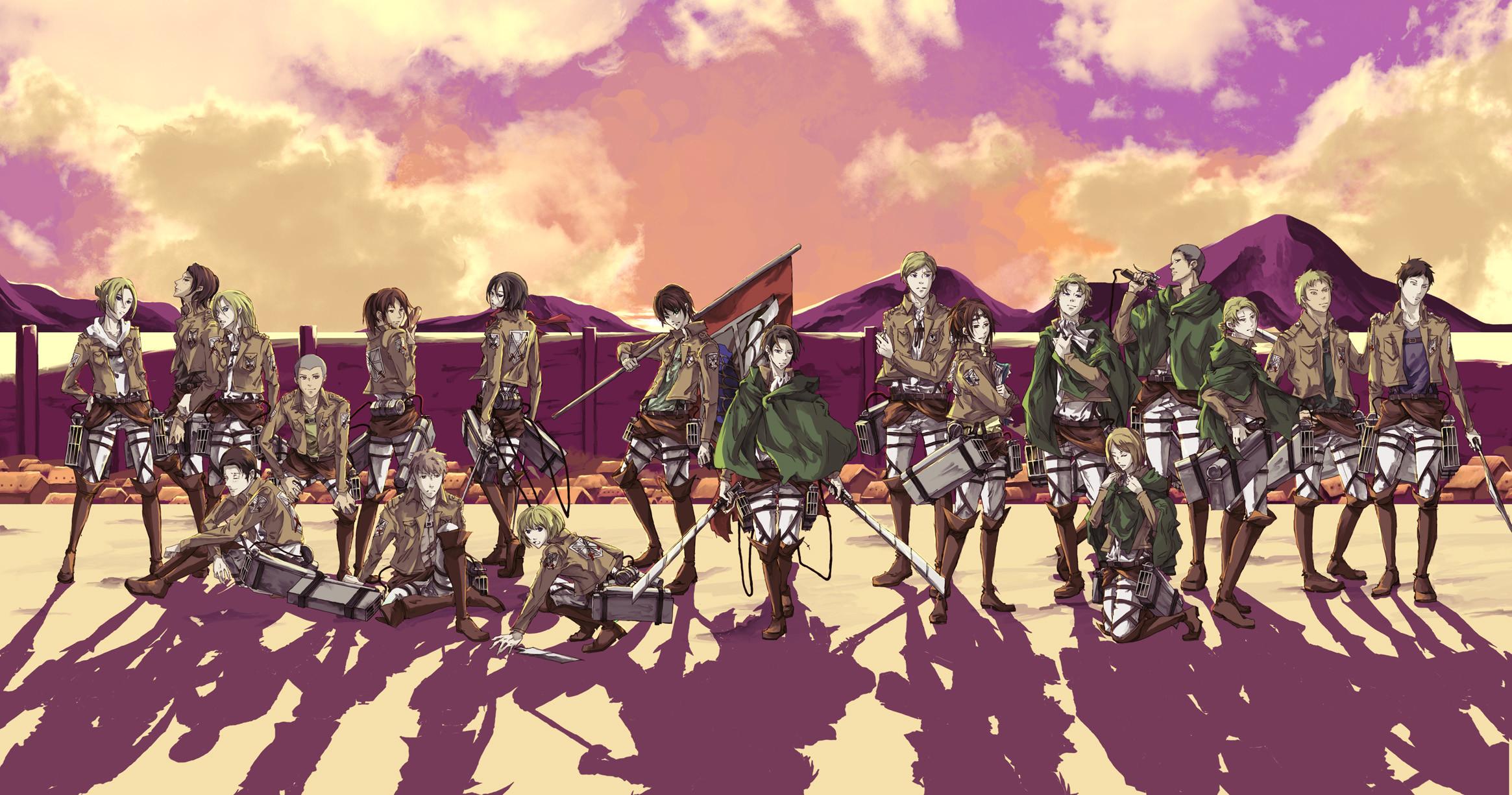 HD Wallpaper   Background ID:638813. Anime Attack On Titan. 16  Like