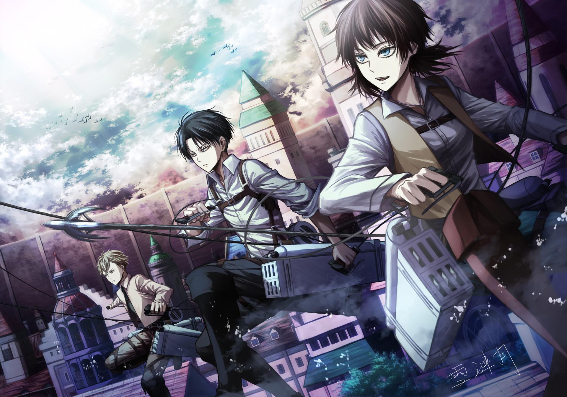 HD Wallpaper   Background ID:753208. Anime Attack On Titan