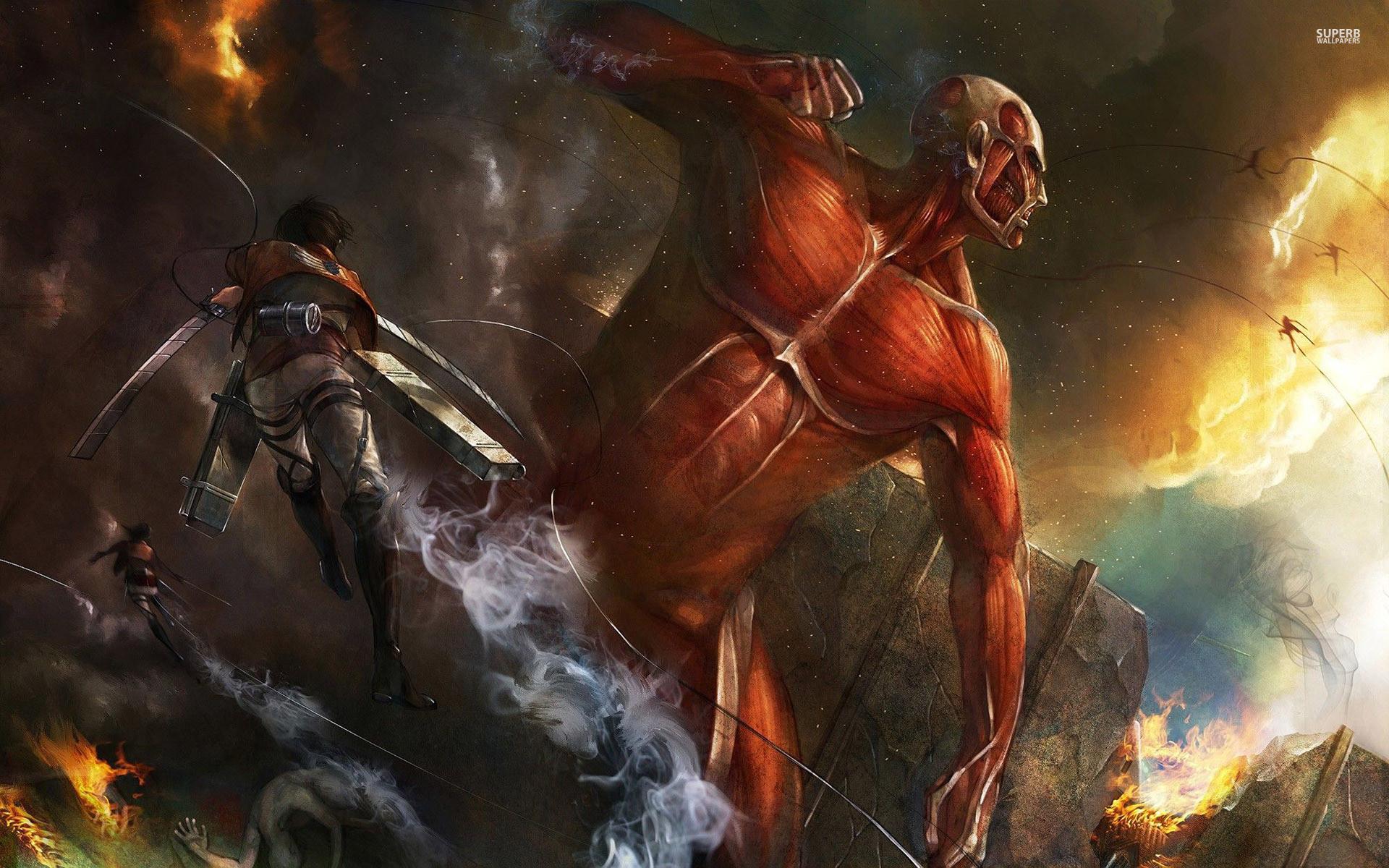 Attack on Titan HD Wallpaper