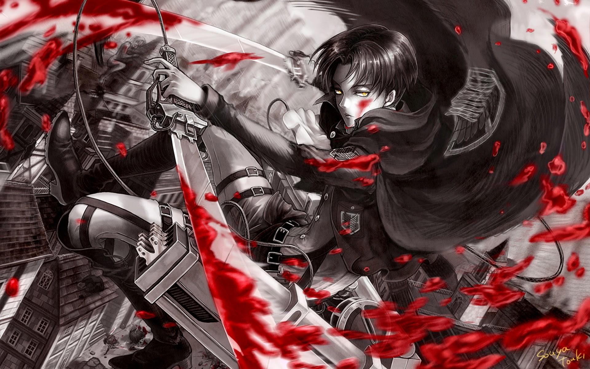 levi anime attack on titan shingeki no kyojin