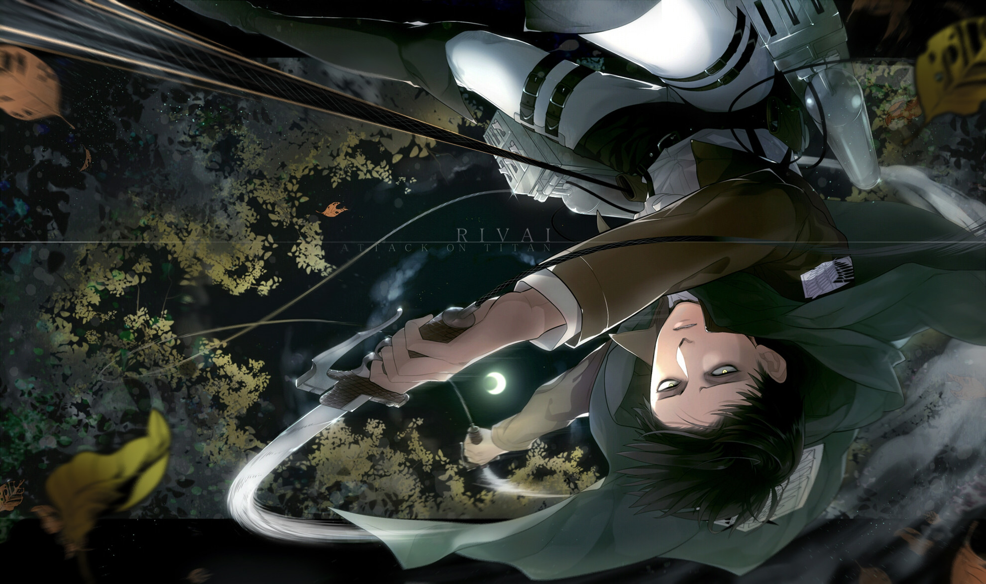 Tags: Anime, Pixiv Id 1480815, Attack on Titan, Levi, Fanart From
