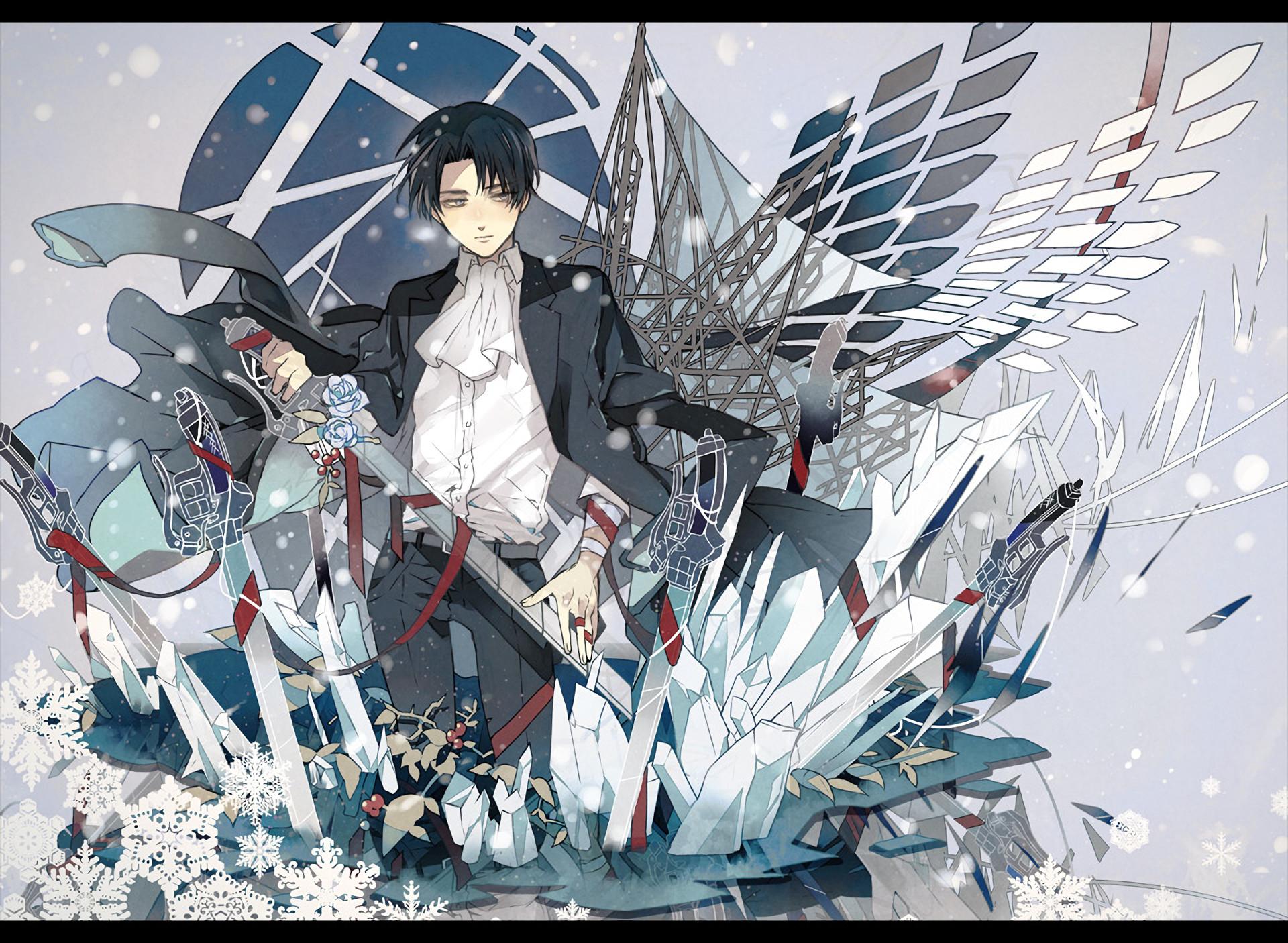Anime – Attack On Titan Levi Ackerman Shingeki No Kyojin Wallpaper