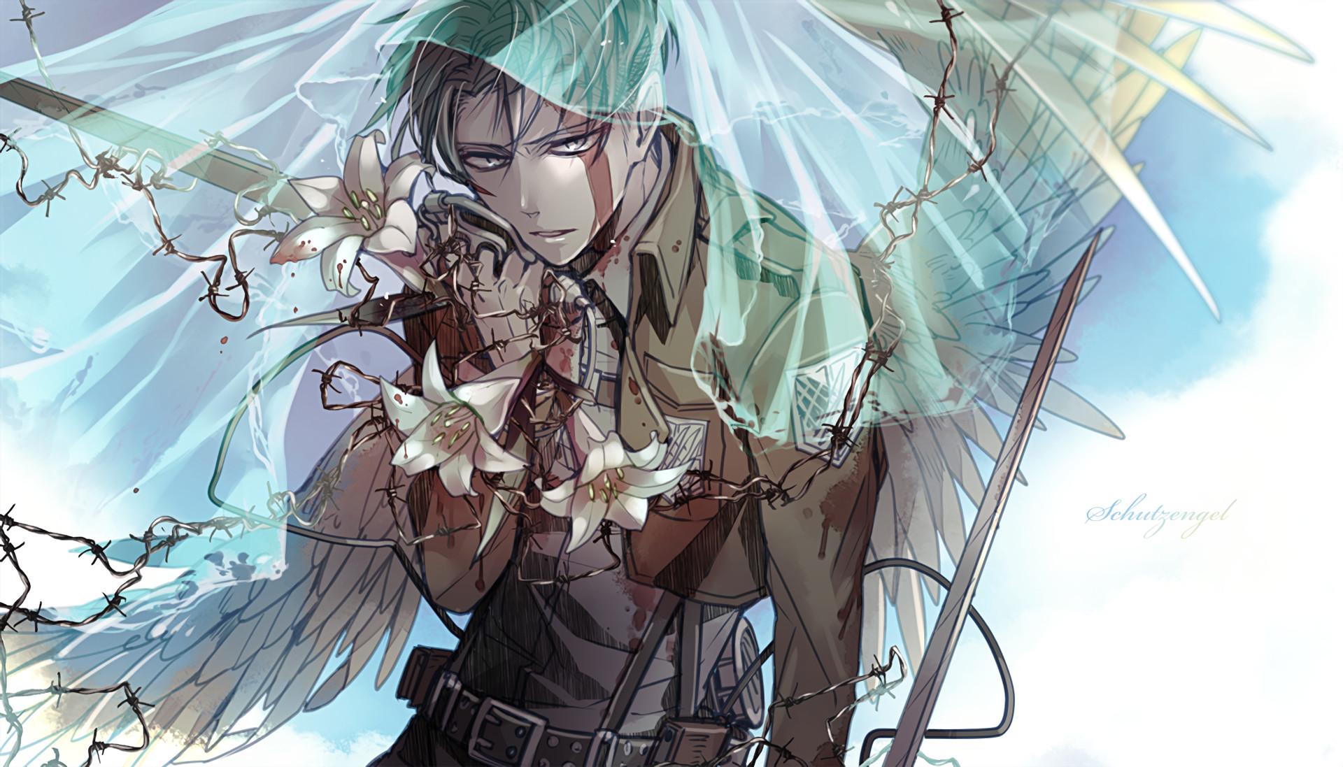 Anime – Attack On Titan Levi Ackerman Wallpaper