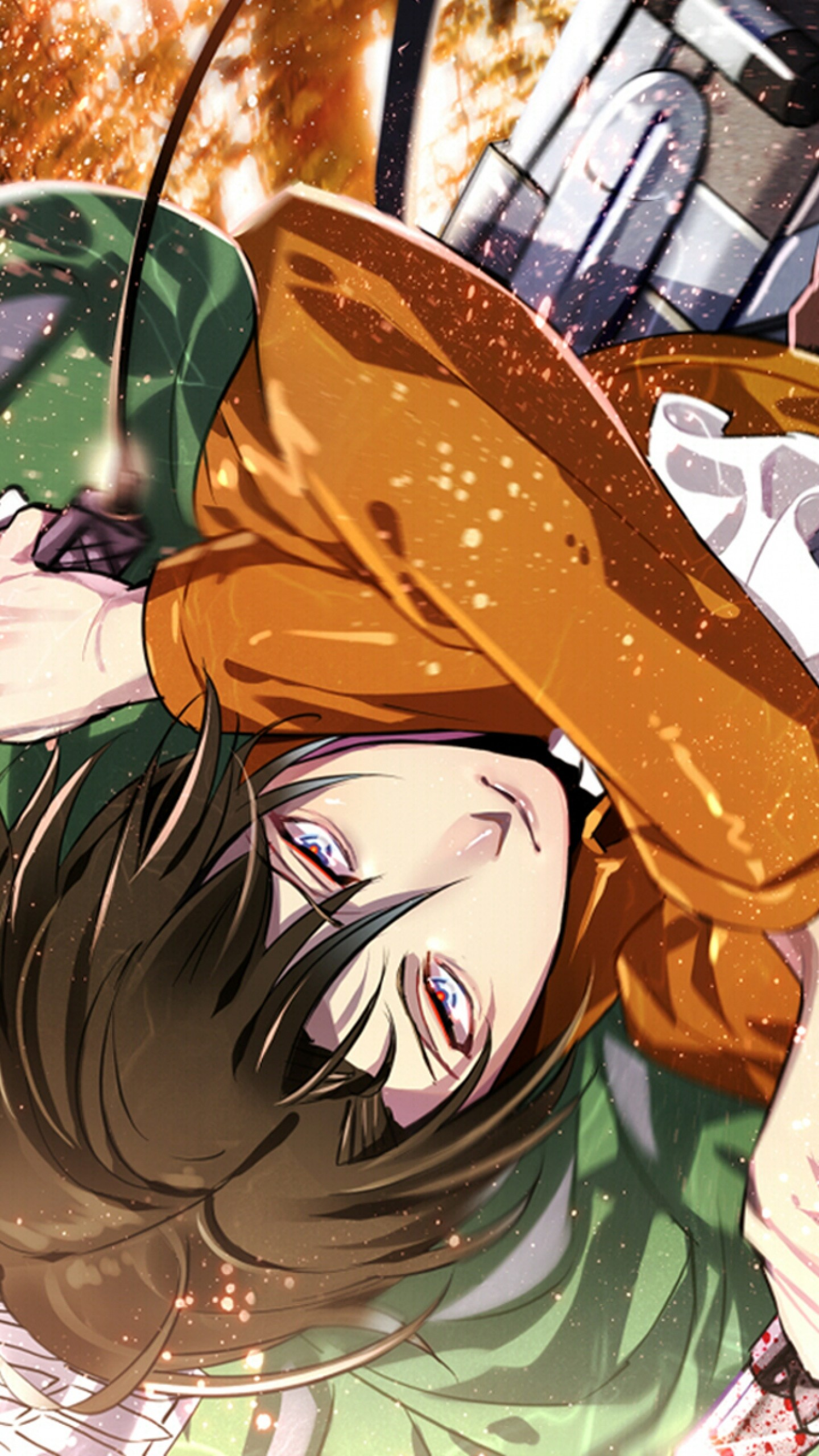 Wallpaper attack on titan, shingeki no kyojin, guy, anime, art,
