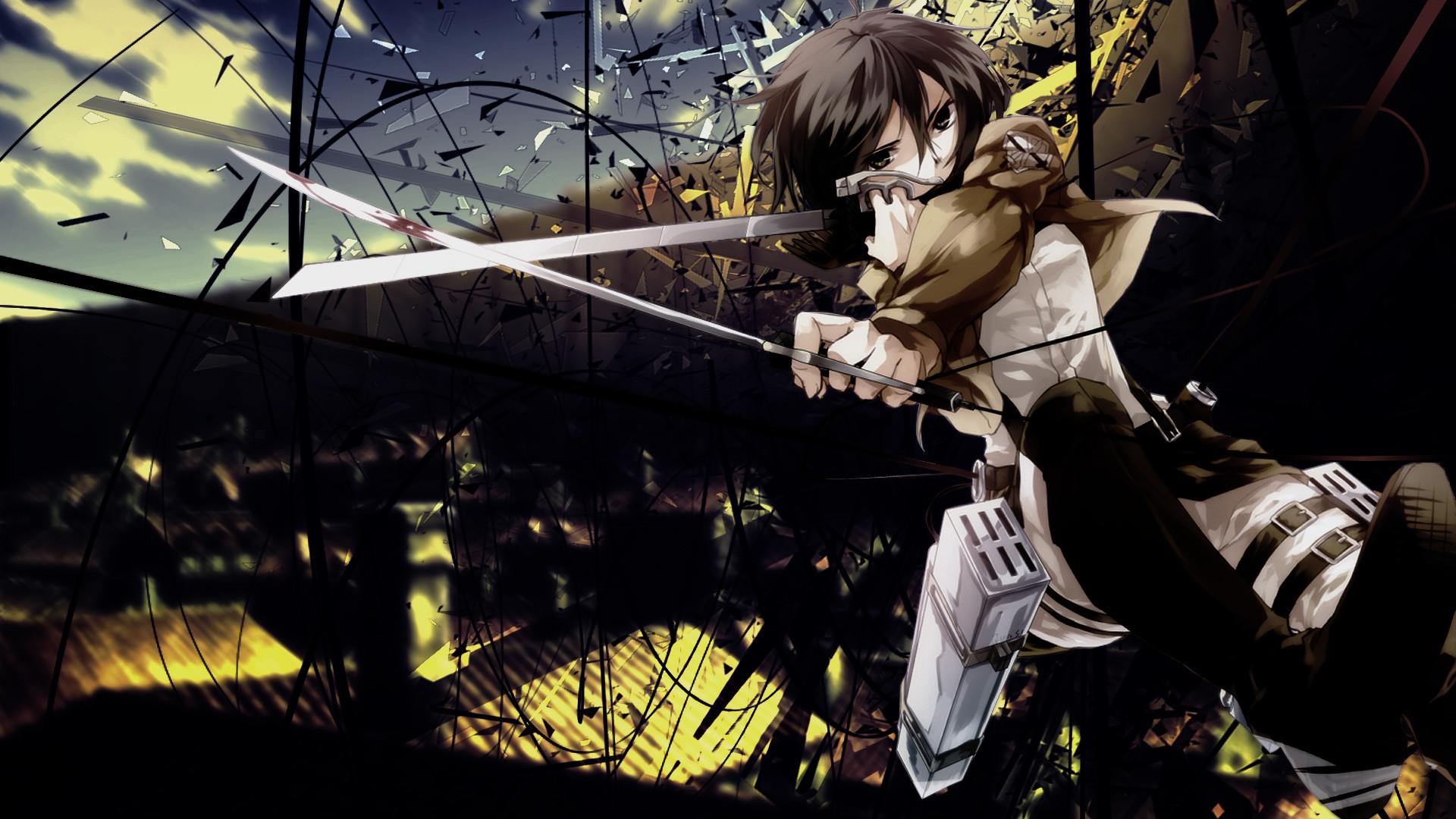Gallery For > Attack On Titan Wallpaper Mikasa