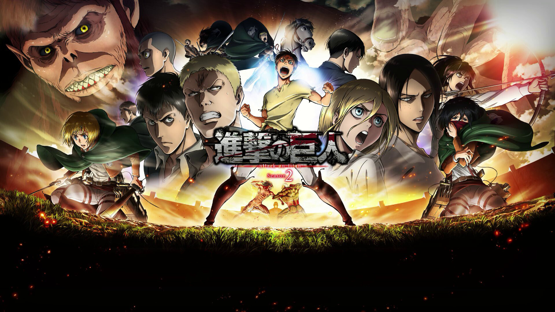 Tags: Anime, Wit Studio, Attack on Titan, Bertholdt Fubar, Levi,