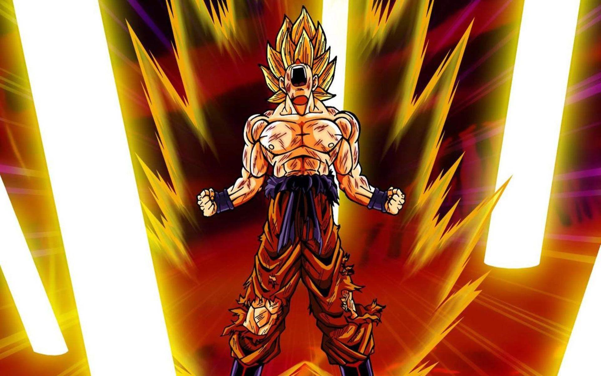 Dragon Ball Z Goku Super Saiyan Wallpaper – 131870