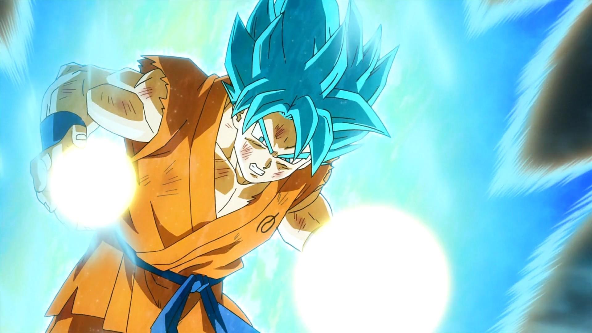 Son Goku Super Saiyan GOD Blue Wallpapers