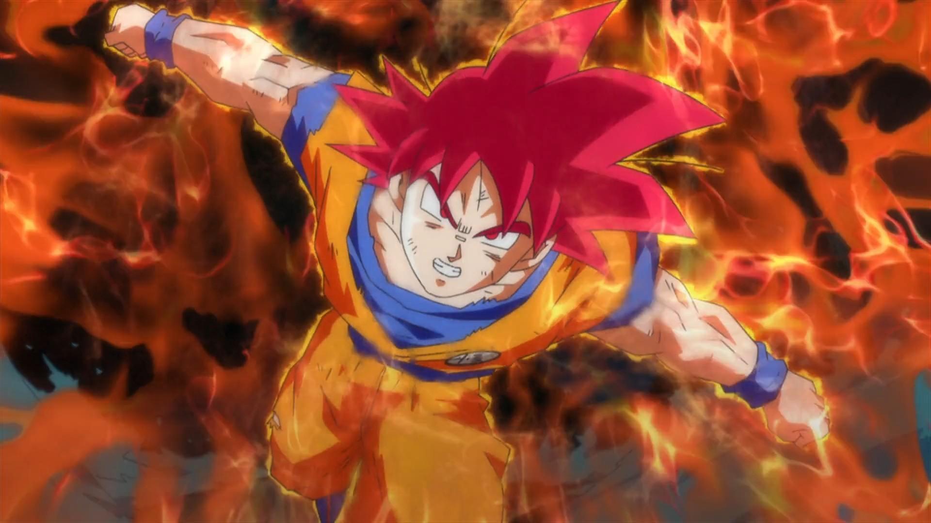 Son Goku Super Saiyan God – Dragon Ball Z Battle of Gods Wallpaper 10 of 49